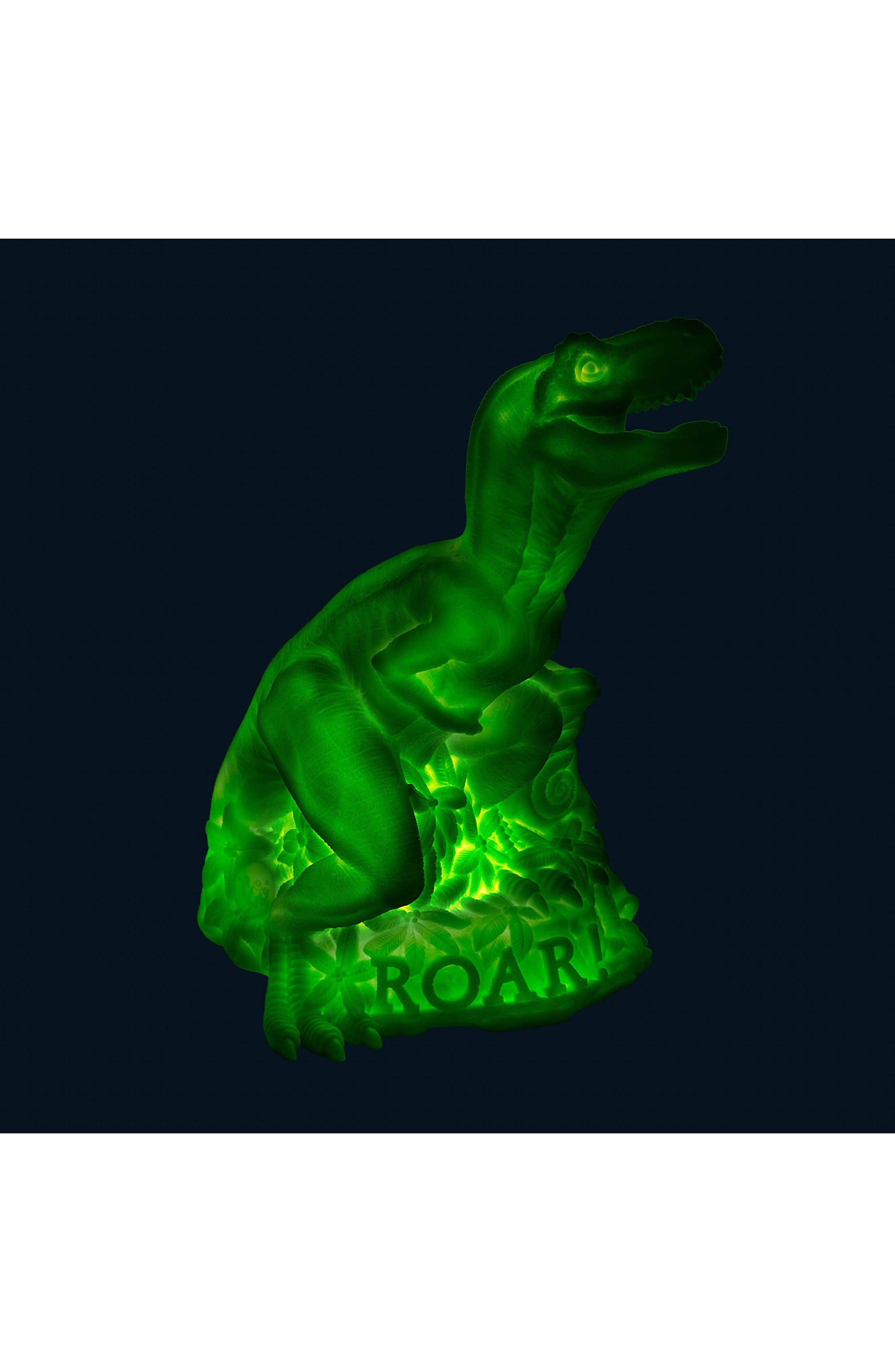 Dino LED Lamp,                             Alternate thumbnail 5, color,                             GREEN