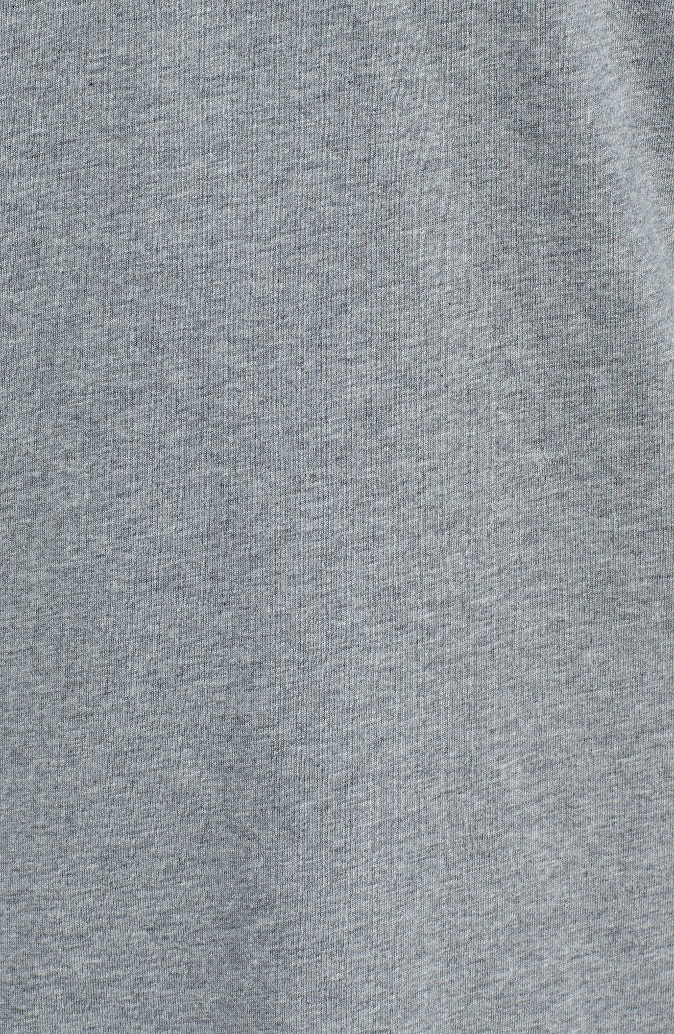 Sportswear 23 Hooded T-Shirt,                             Alternate thumbnail 5, color,                             CARBON HEATHER/ WHITE
