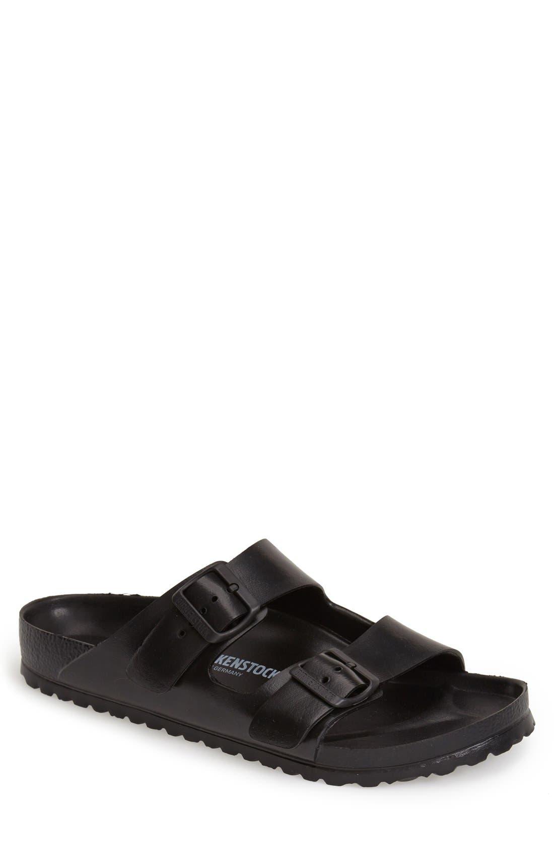 'Essentials - Arizona EVA' Waterproof Slide Sandal,                             Main thumbnail 1, color,                             BLACK