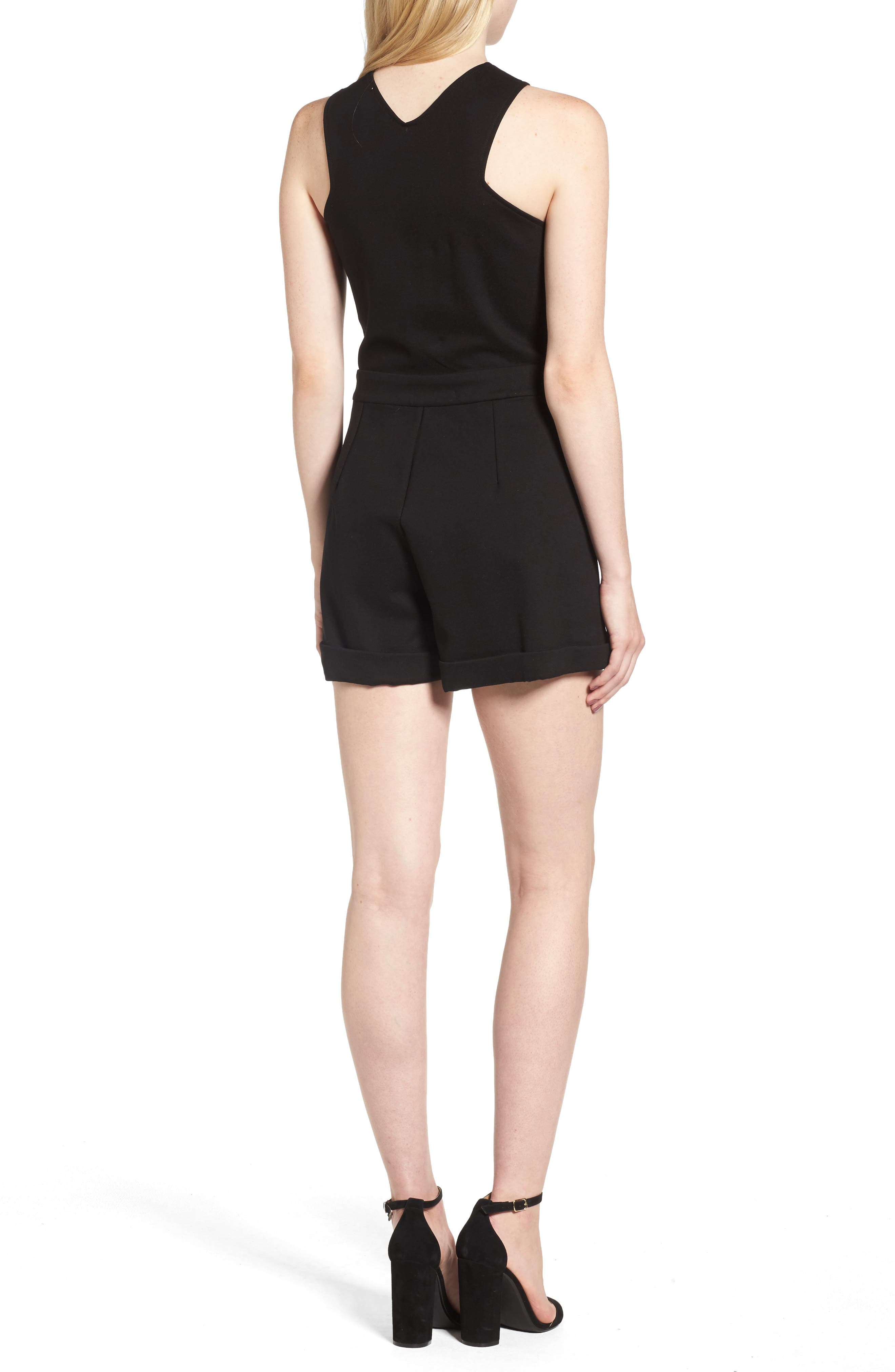 Line & Dont Gabi Romper,                             Alternate thumbnail 2, color,