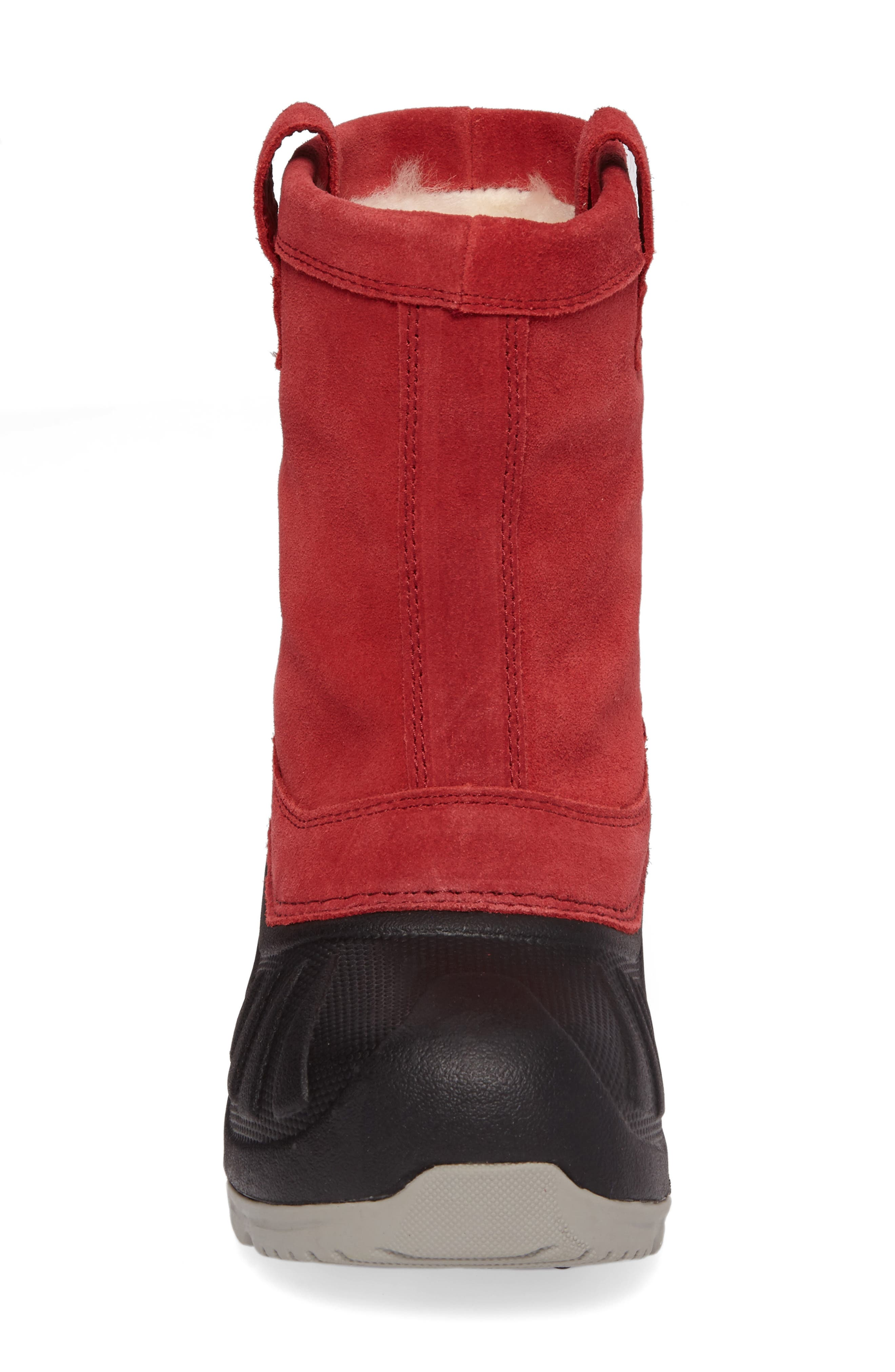 Evertt Waterproof Thinsulate<sup>™</sup> Insulated Snow Boot,                             Alternate thumbnail 8, color,