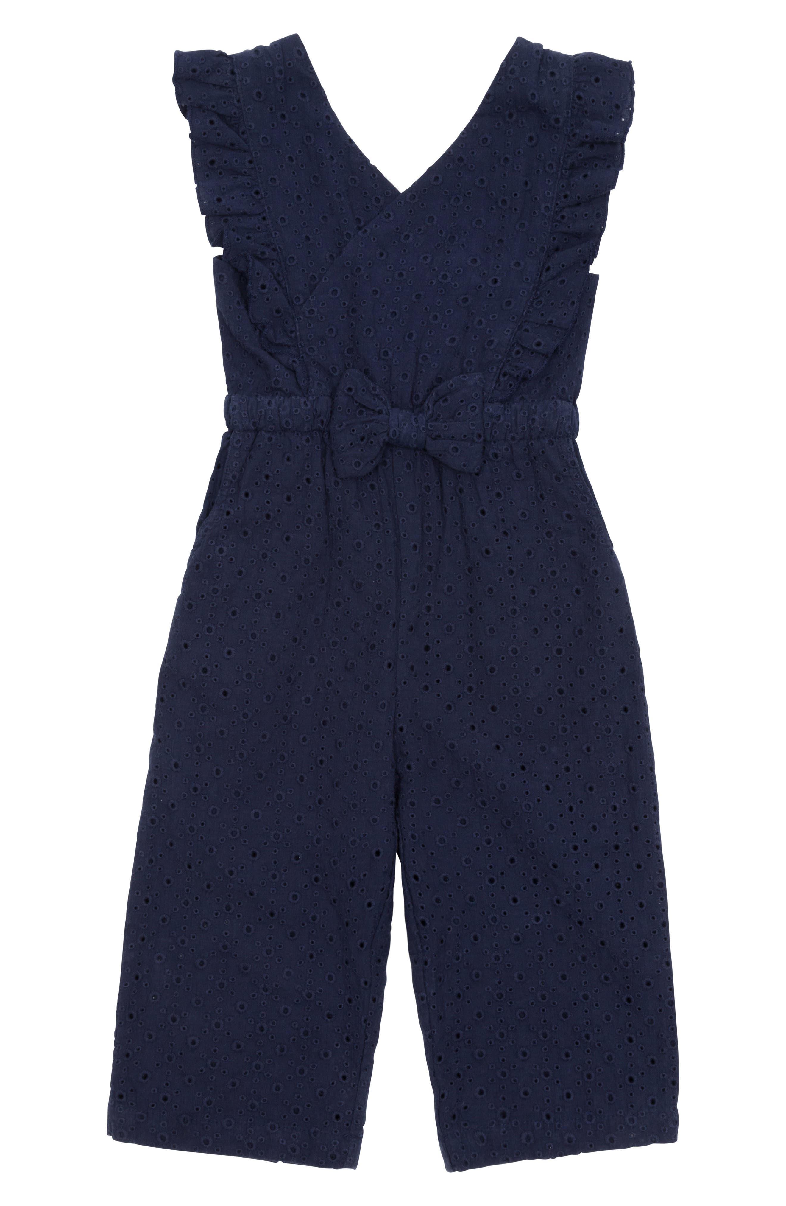 Girls Habitual Girl Mila Romper Size 45  Blue