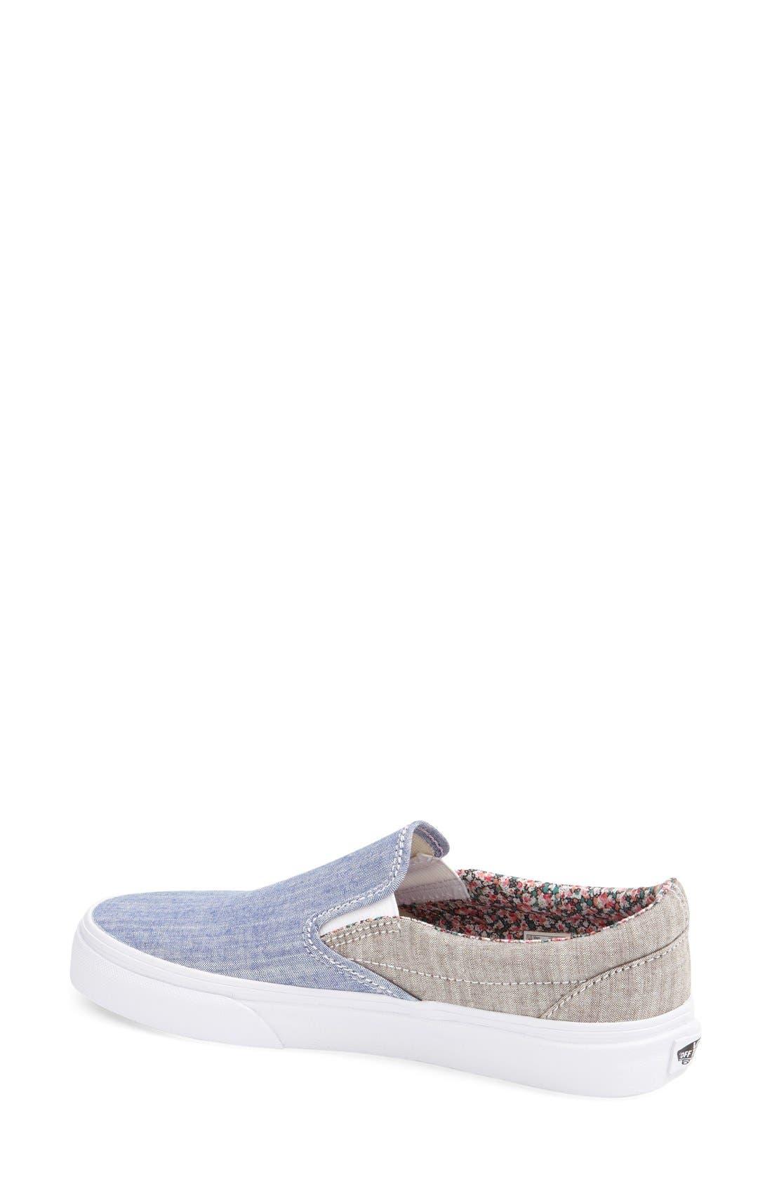 Classic Slip-On Sneaker,                             Alternate thumbnail 155, color,