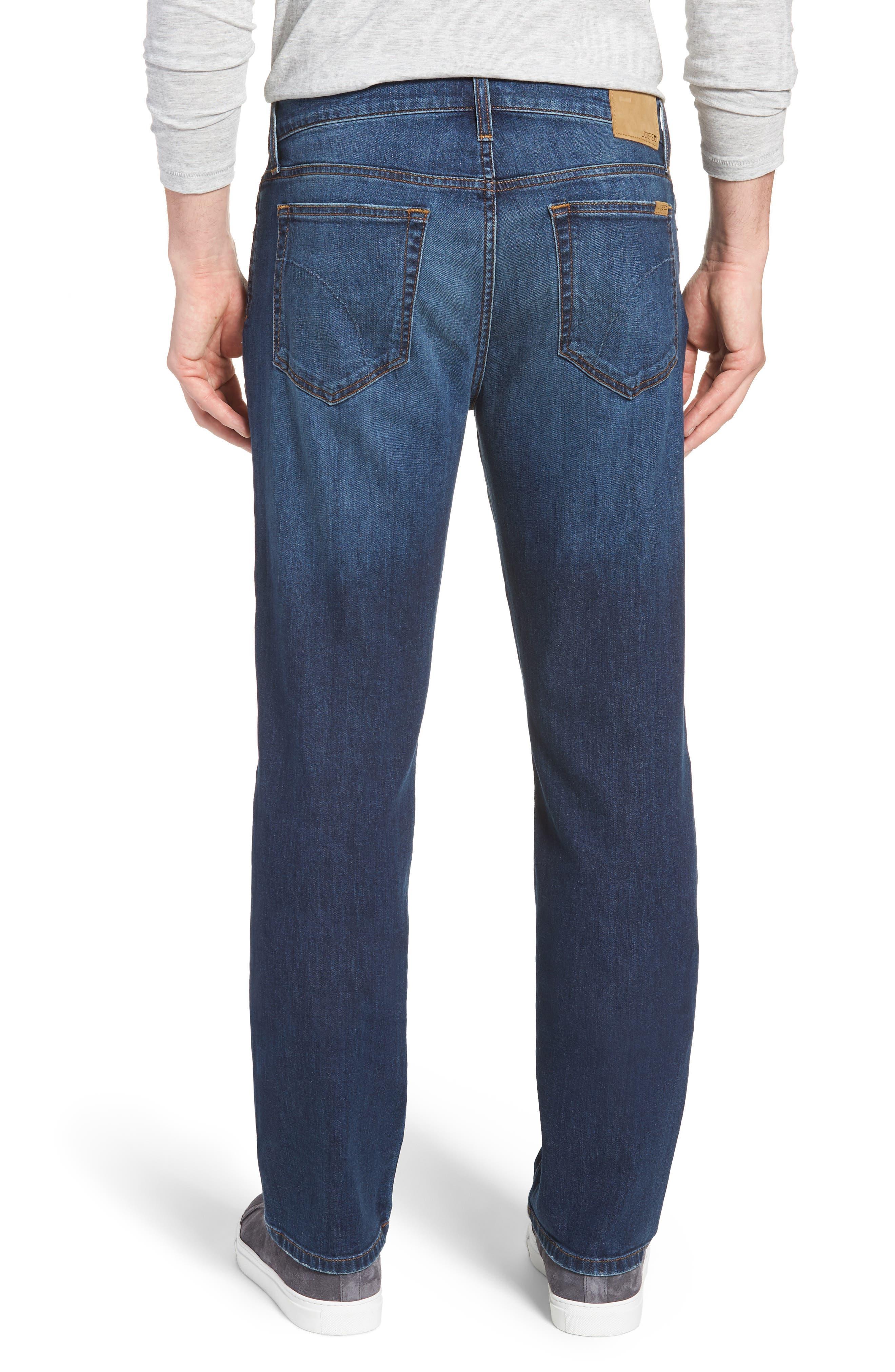 Classic Straight Leg Jeans,                             Alternate thumbnail 2, color,                             VALEN