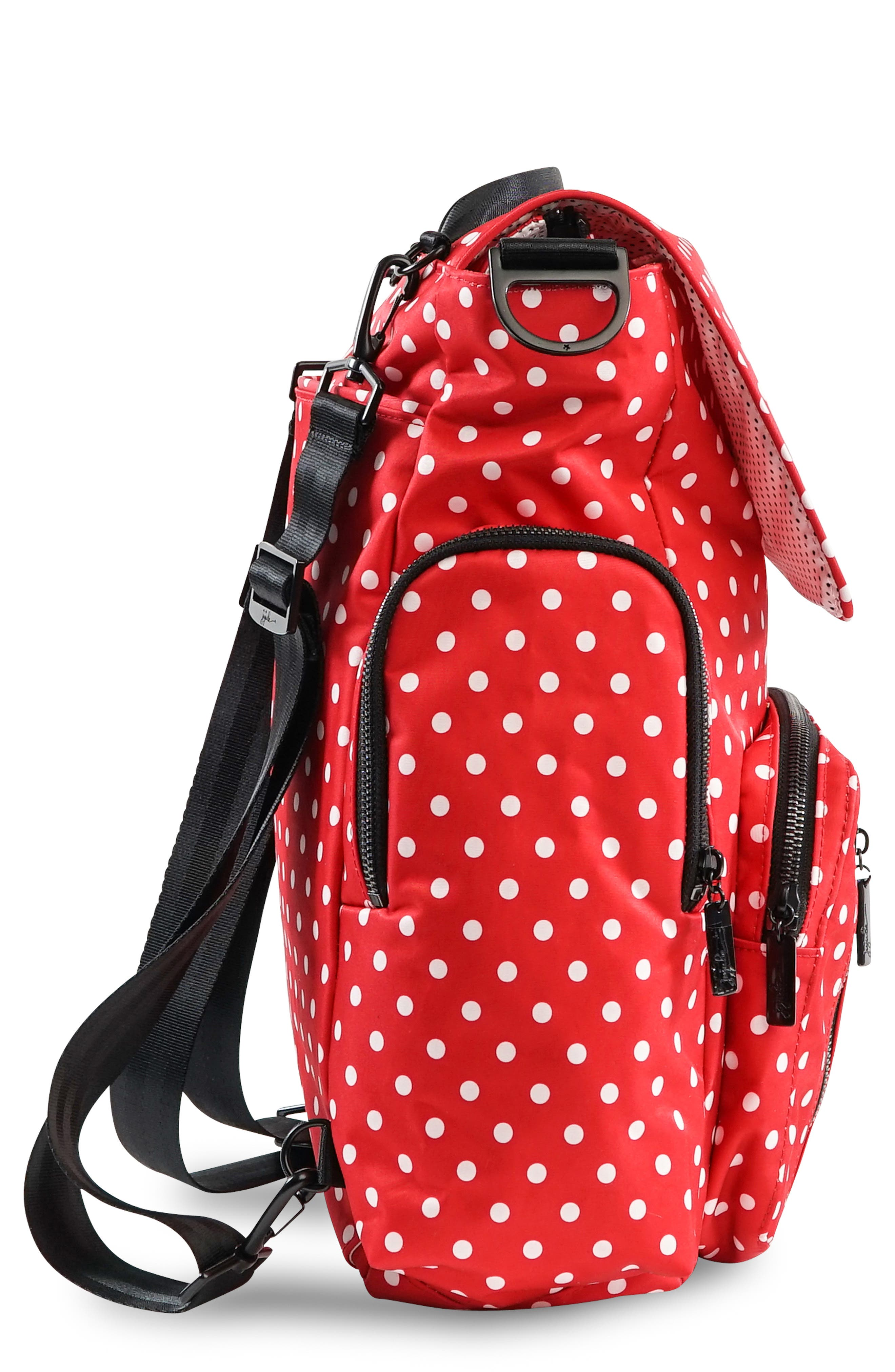Onyx Be Sporty Diaper Backpack,                             Alternate thumbnail 3, color,                             BLACK RUBY