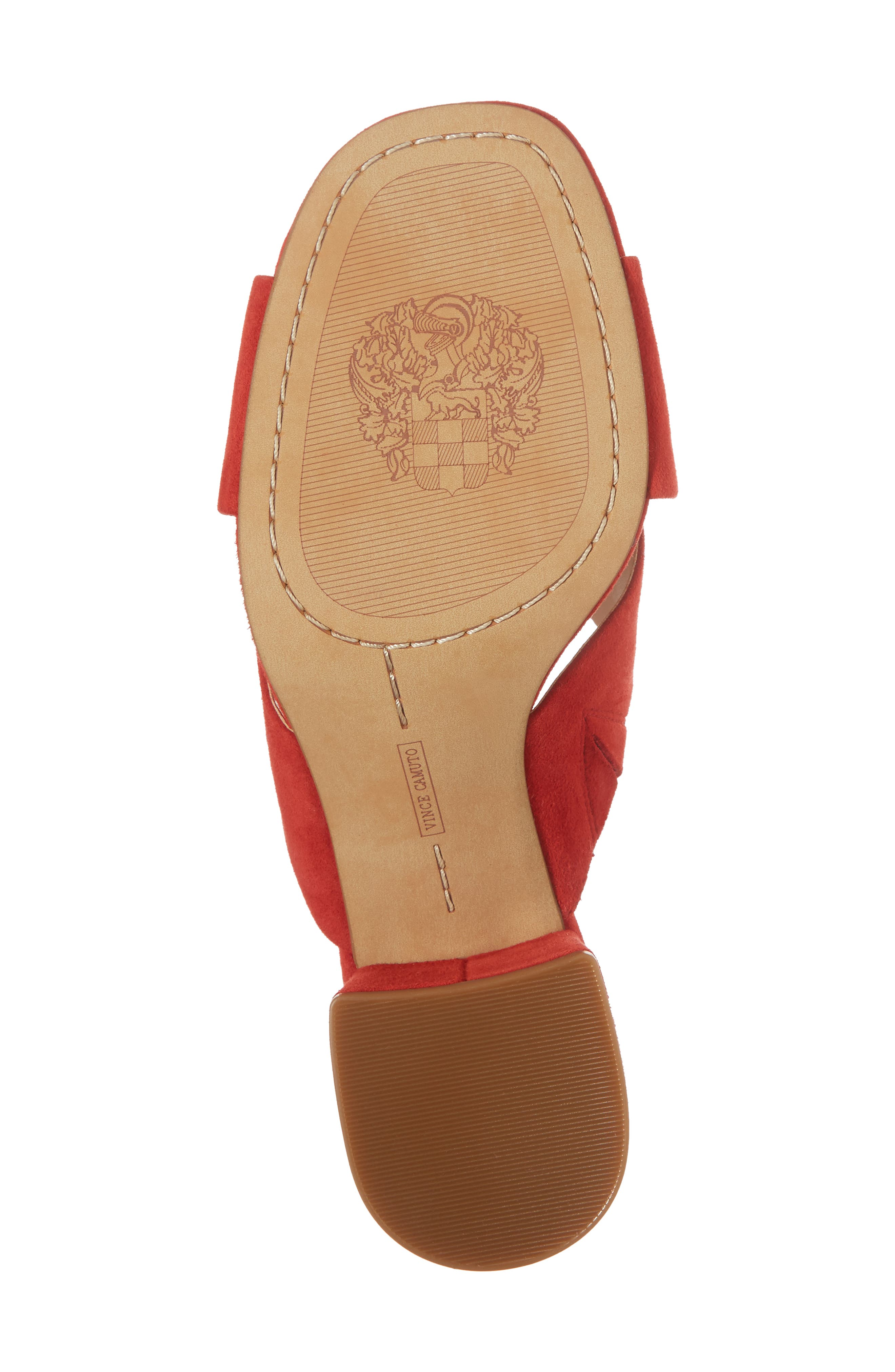 Stania Sandal,                             Alternate thumbnail 6, color,                             RED HOT RIO SUEDE