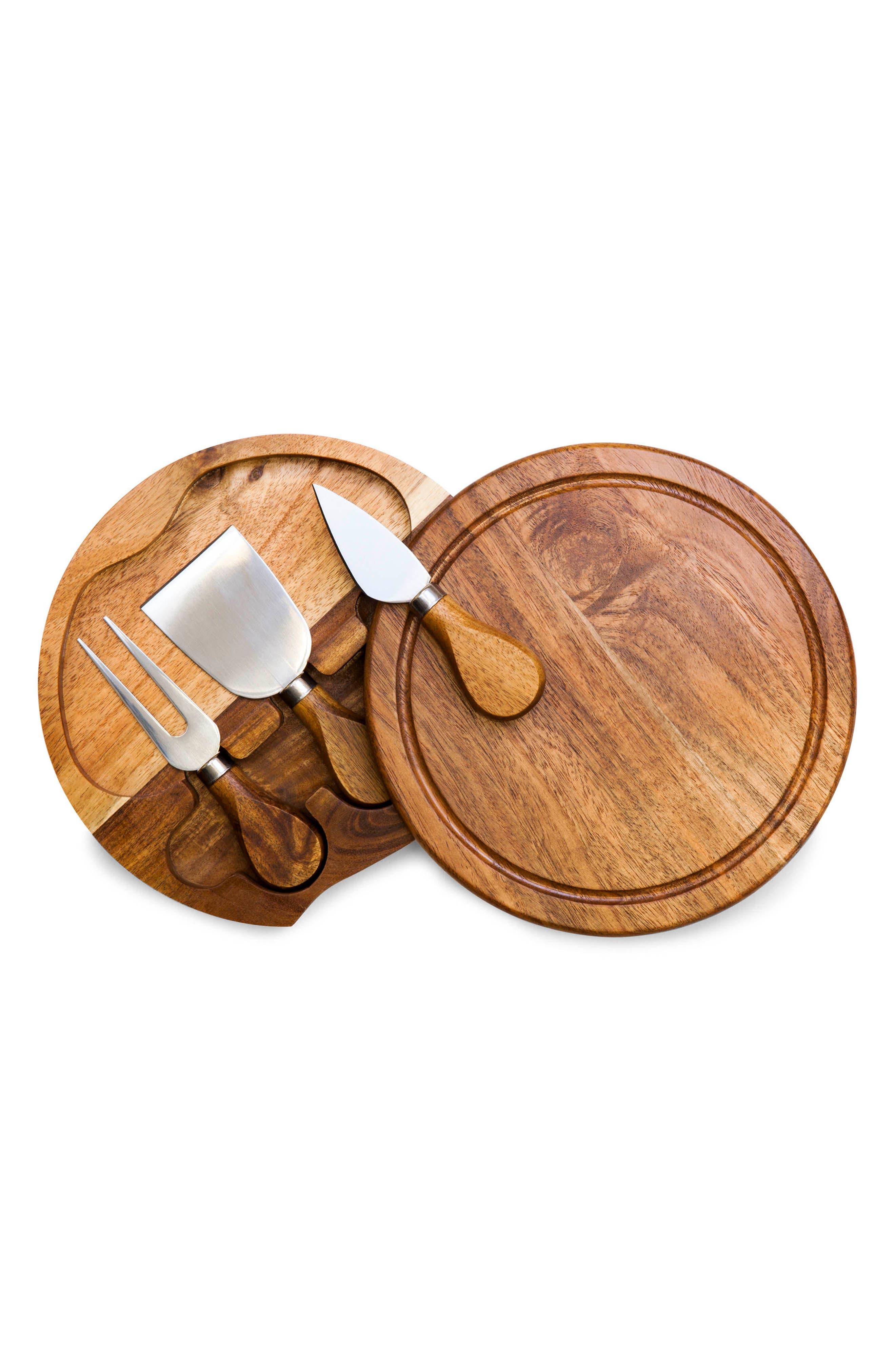 Acacia Cheese Board Set,                             Alternate thumbnail 2, color,                             200