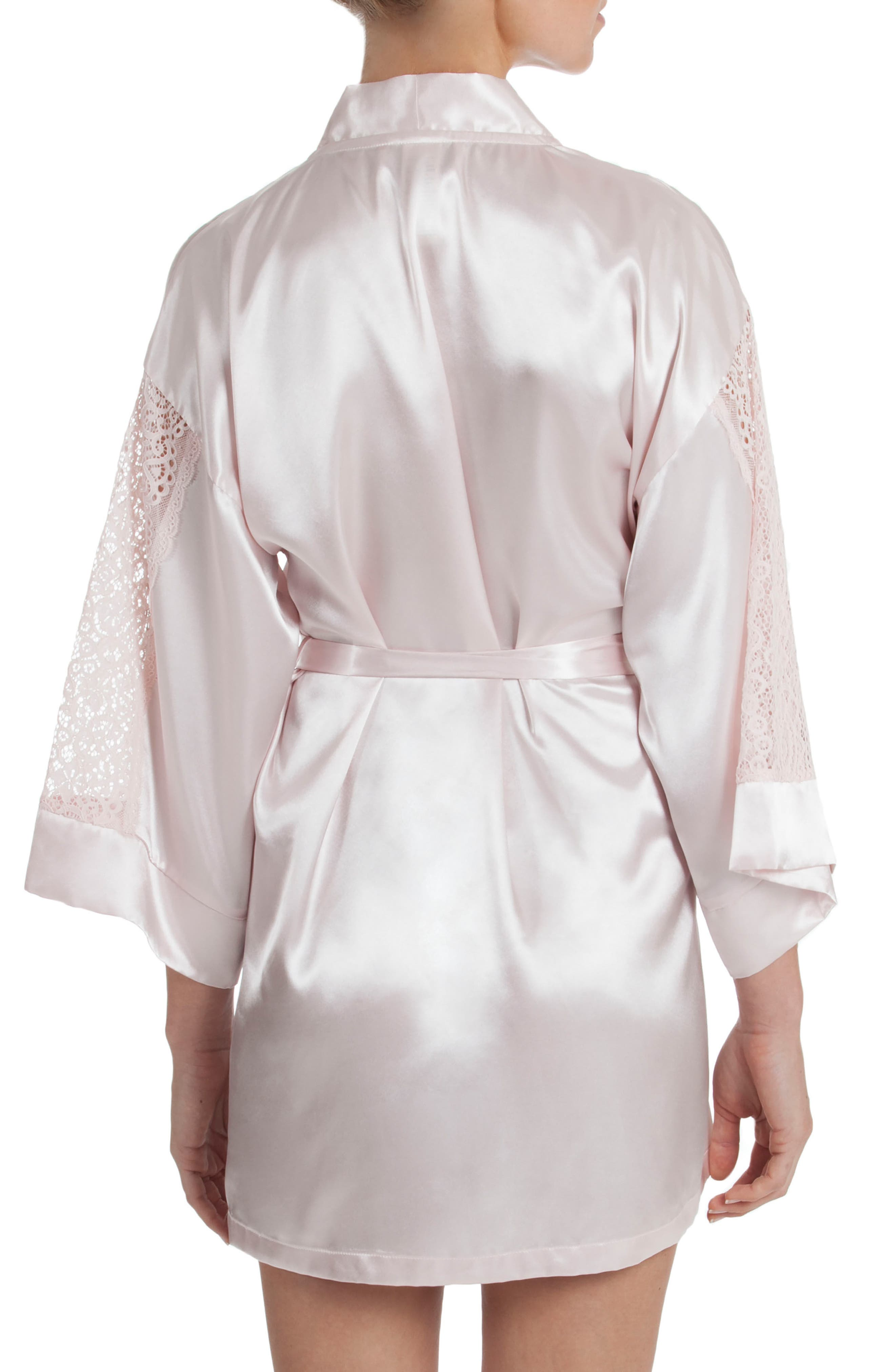 IN BLOOM BY JONQUIL,                             Satin Robe,                             Alternate thumbnail 2, color,                             950