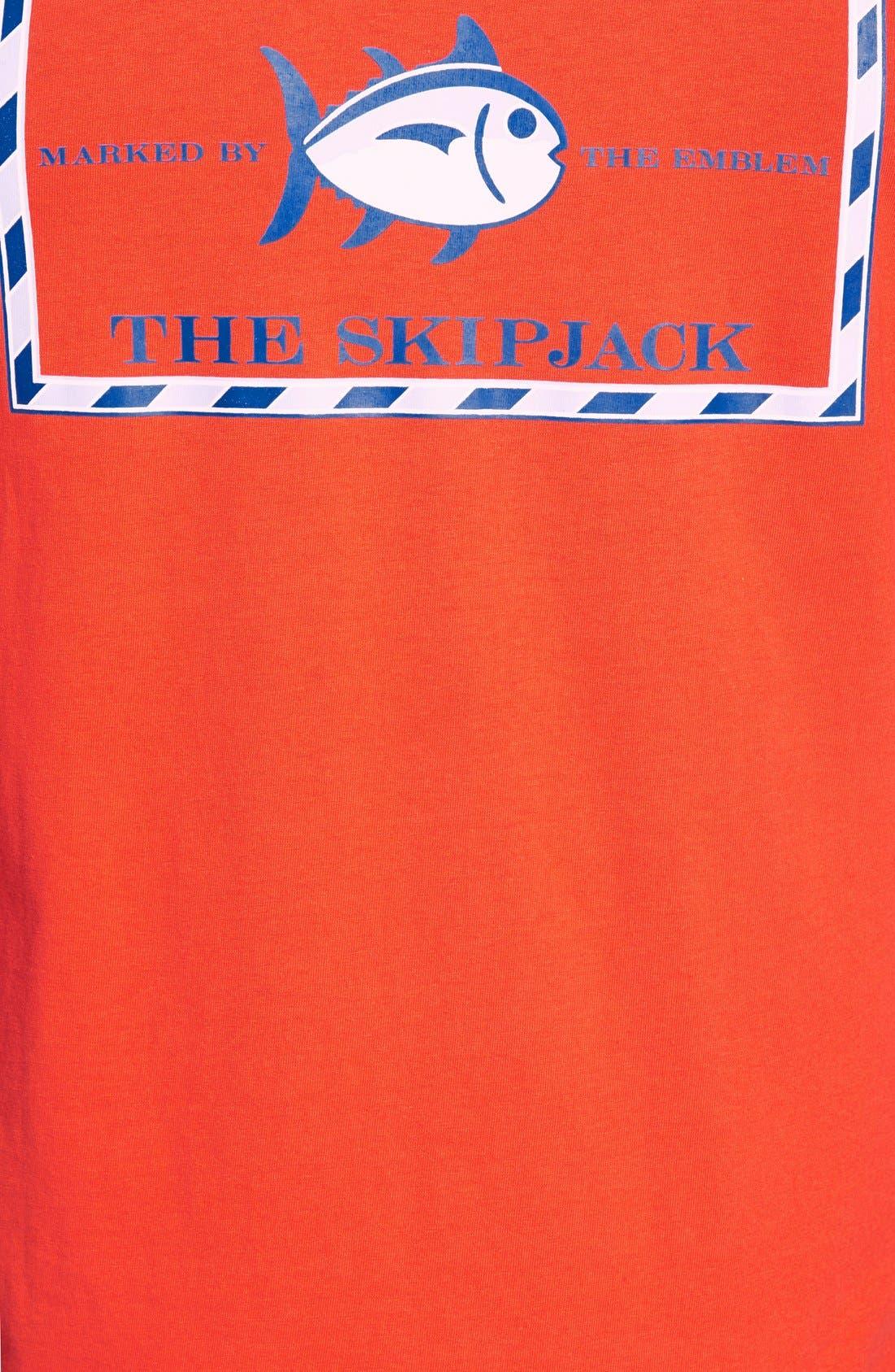 'Skipjack'Long Sleeve Graphic T-Shirt,                             Alternate thumbnail 22, color,