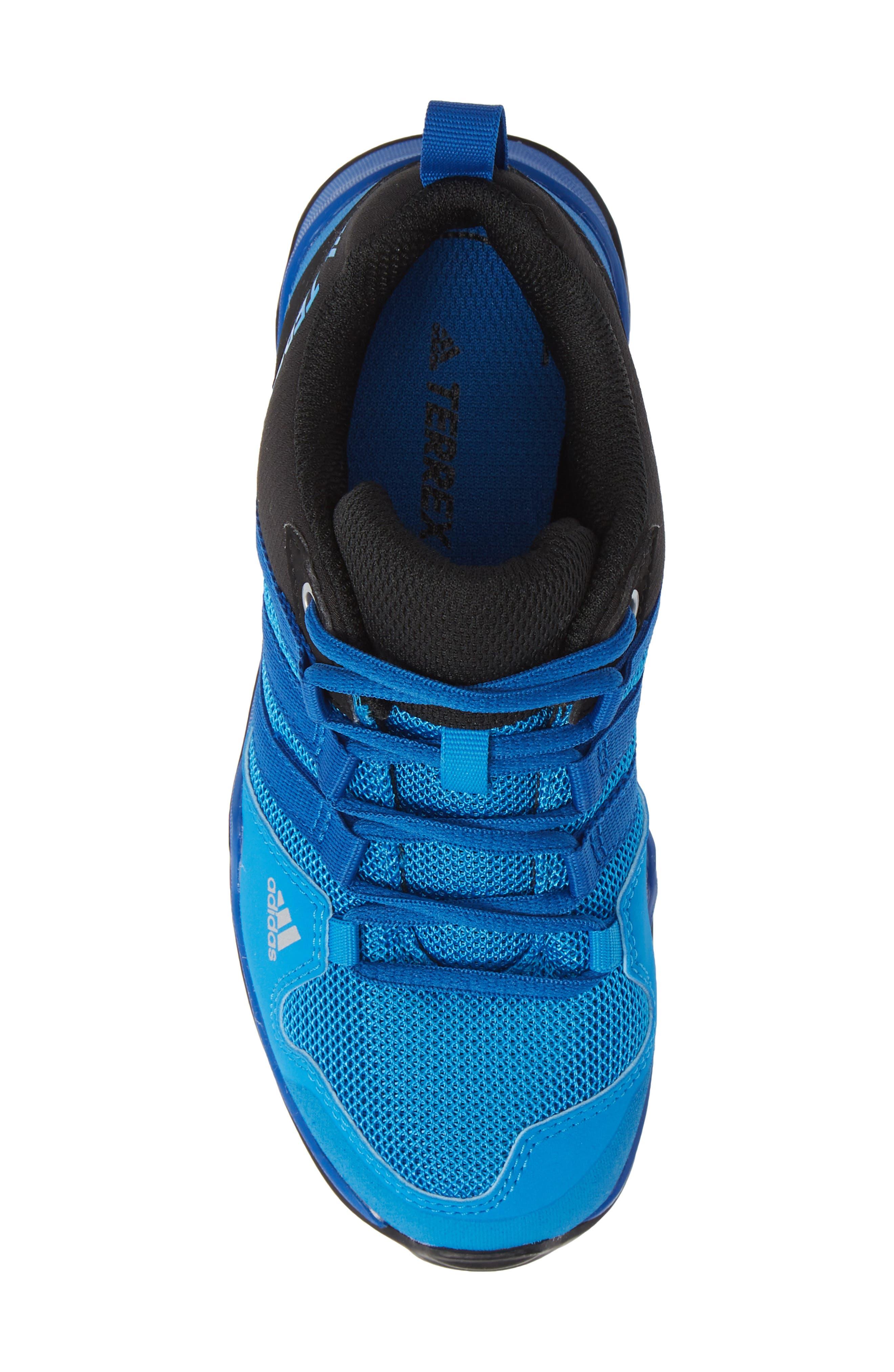 Terrex AX2R CP Sneaker,                             Alternate thumbnail 5, color,                             BLACK/ BLUE BEAUTY/ BLACK