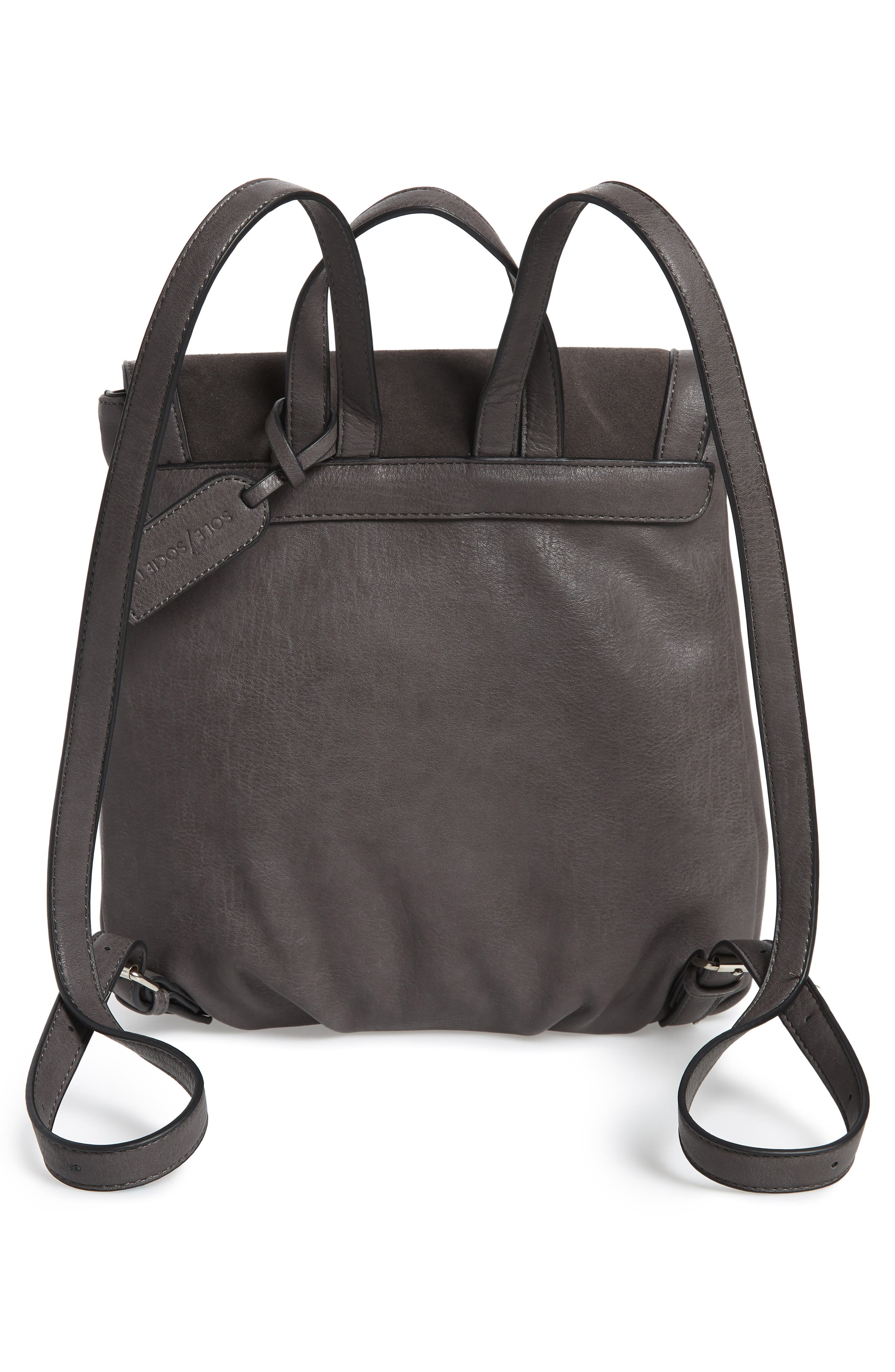 Chele Backpack,                             Alternate thumbnail 3, color,                             DARK GREY