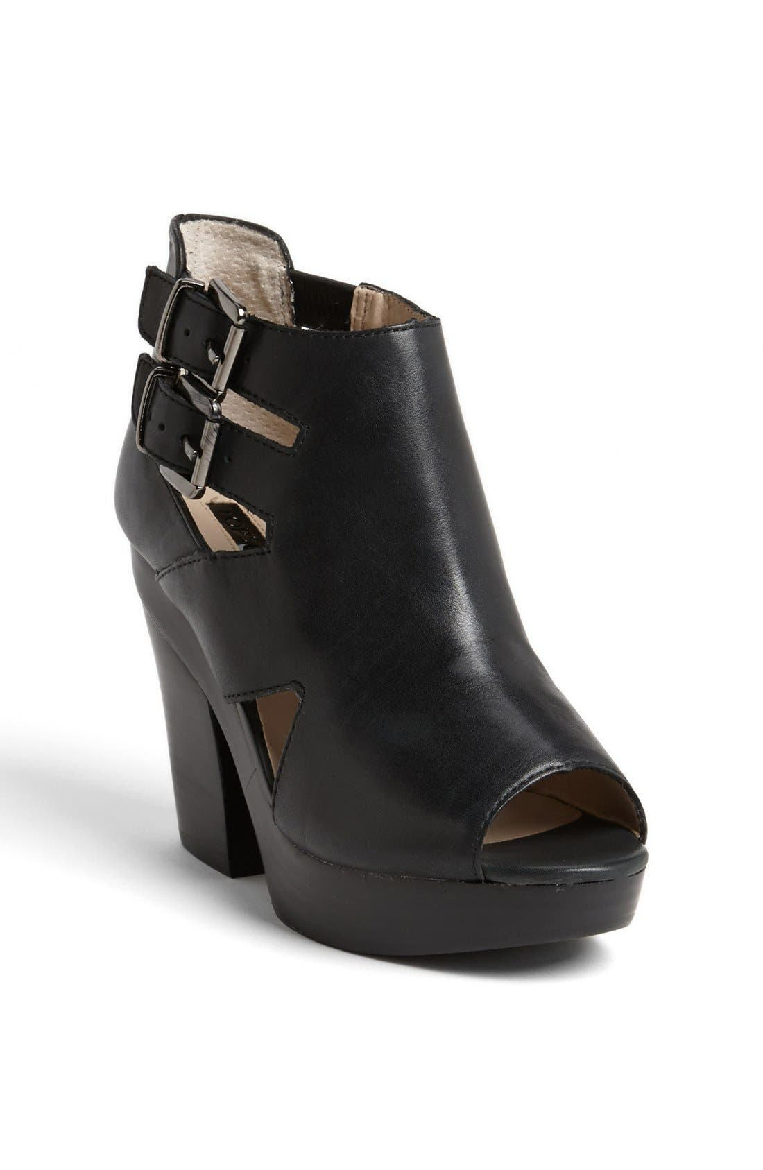 'George' Buckle Bootie,                         Main,                         color, 001