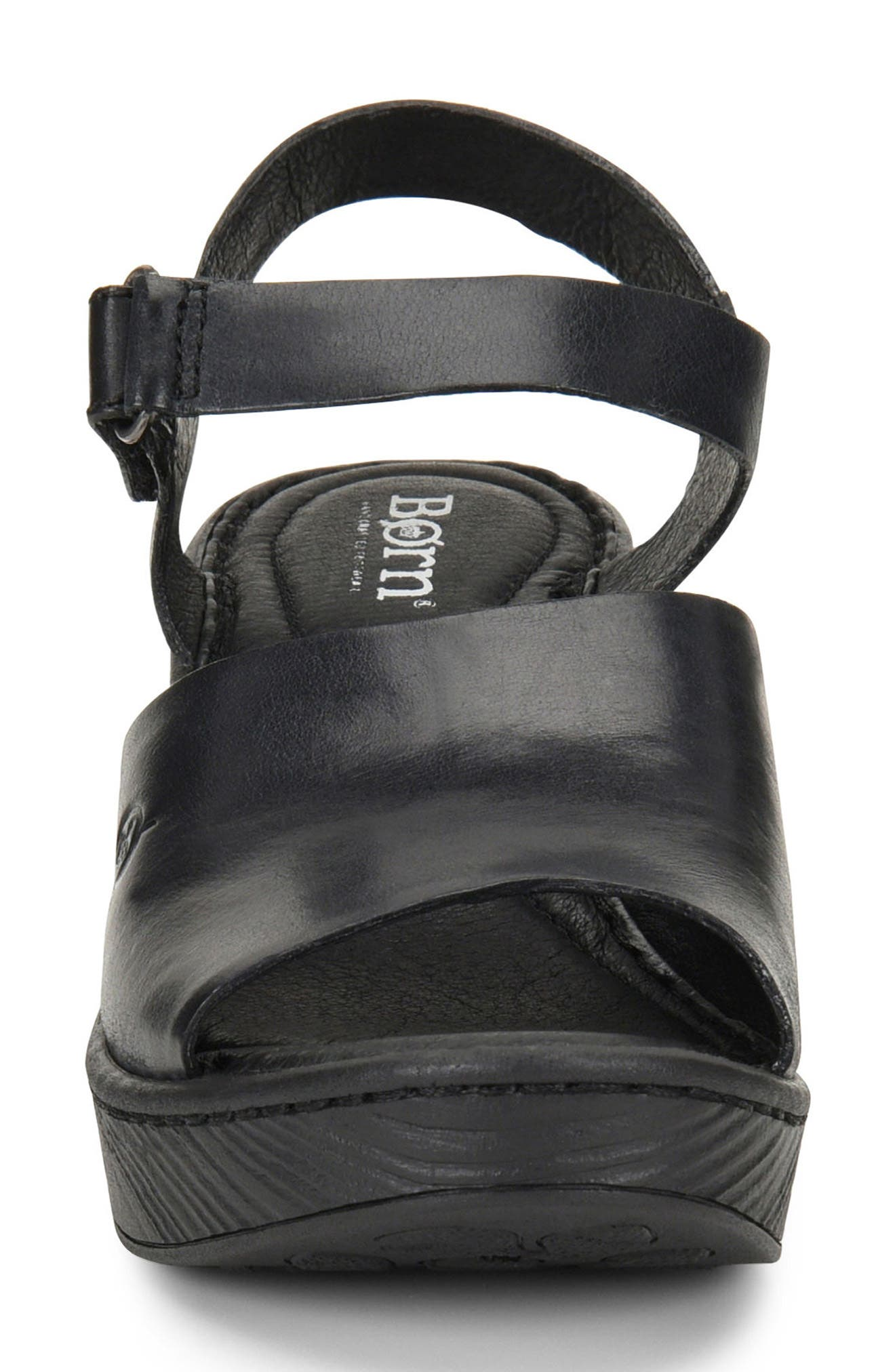 Canna Platform Sandal,                             Alternate thumbnail 4, color,                             001