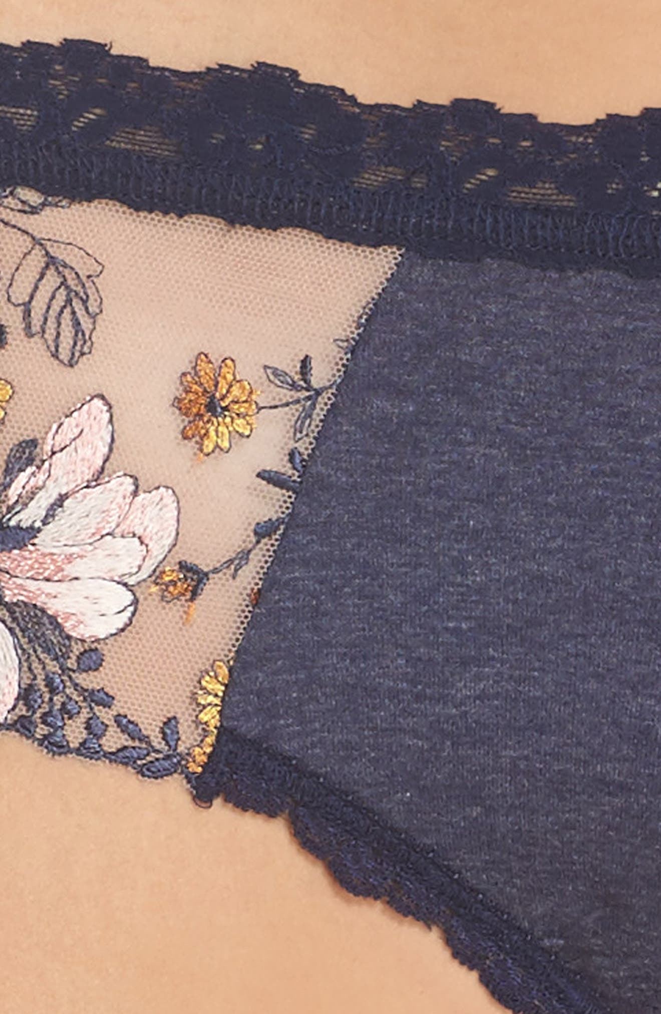 Embroidered Hipster Briefs,                             Alternate thumbnail 4, color,                             411