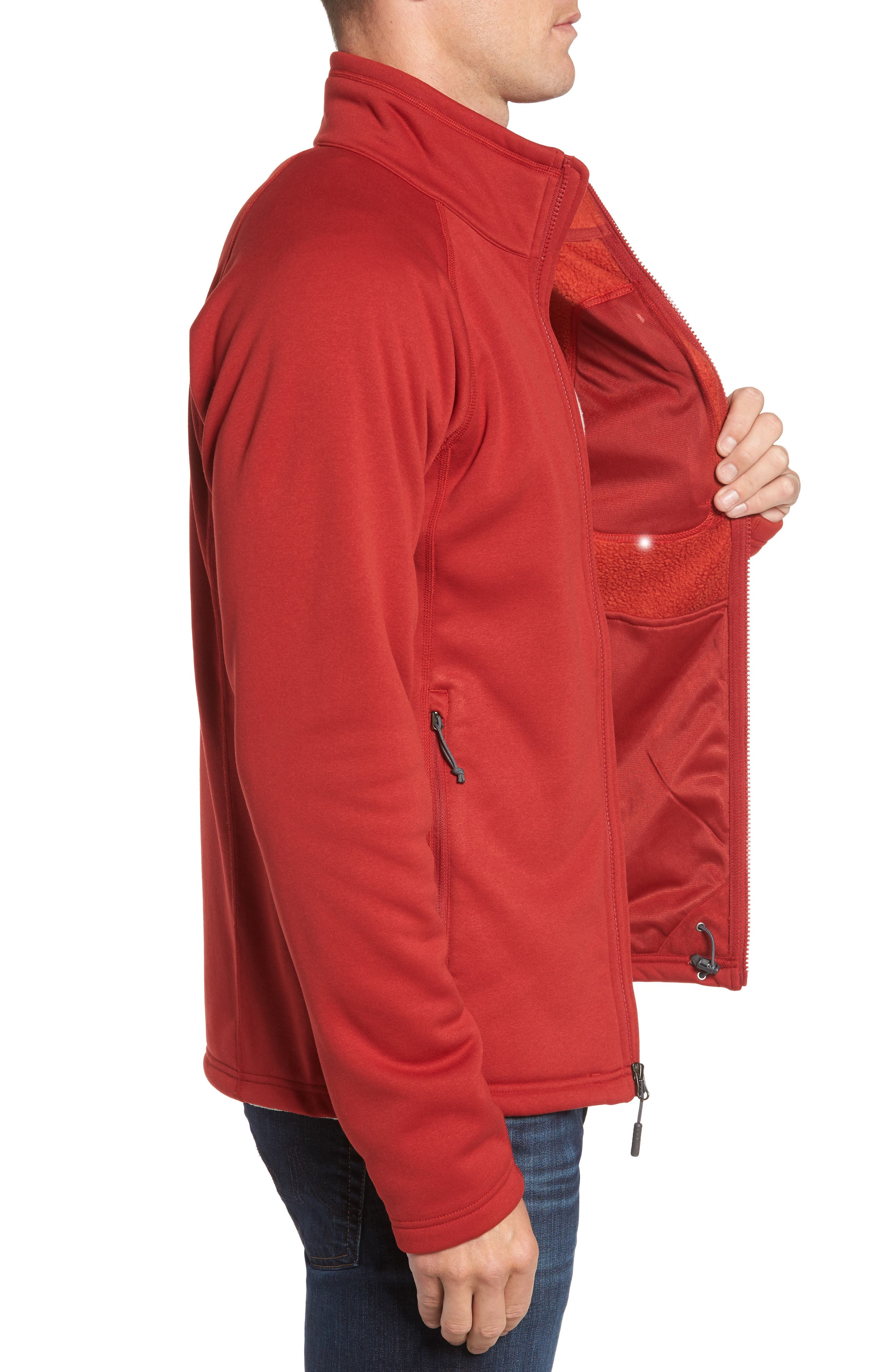 Timber Zip Jacket,                             Alternate thumbnail 9, color,