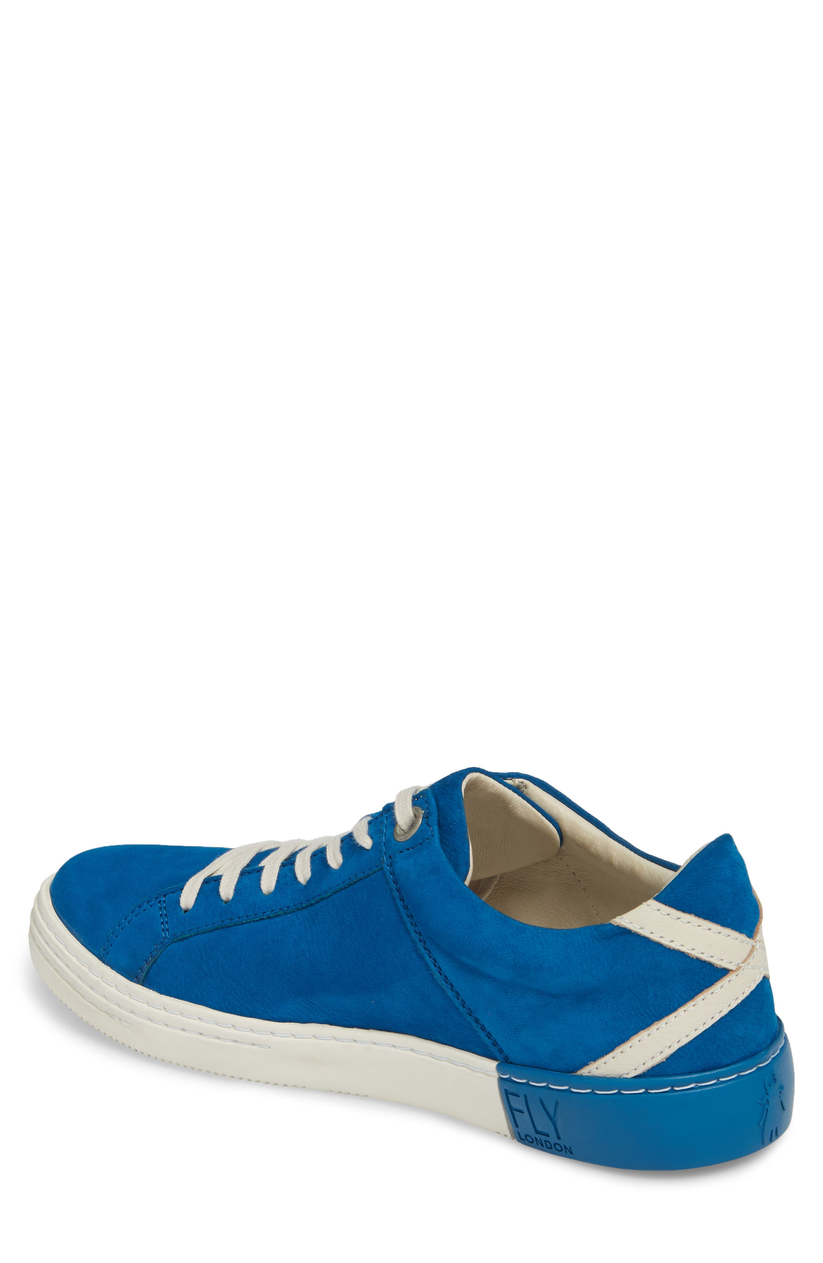 Sene Low Top Sneaker,                             Alternate thumbnail 2, color,                             ELECTRIC BLUE LEATHER