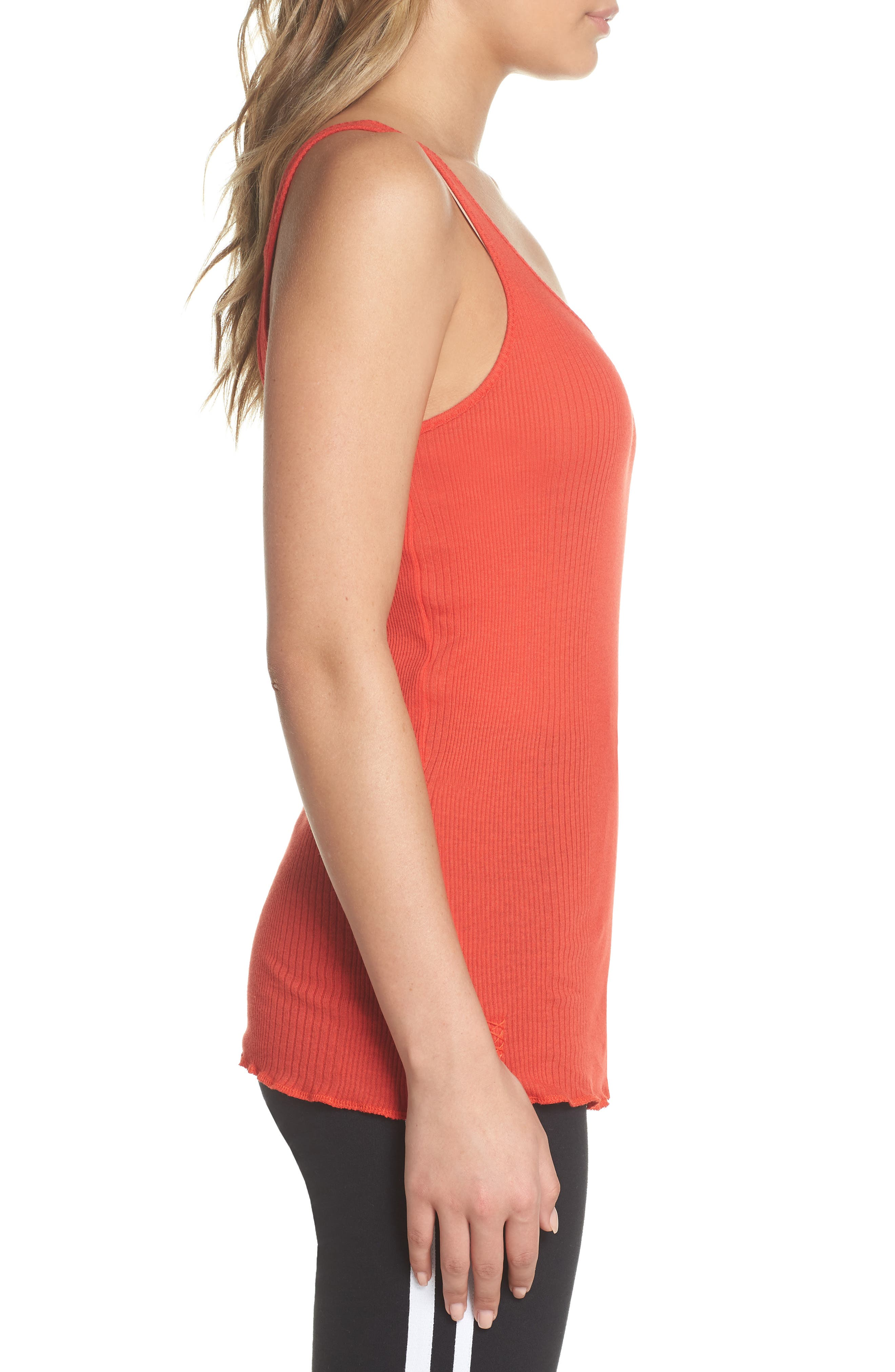 Scoop Neck Tank,                             Alternate thumbnail 3, color,