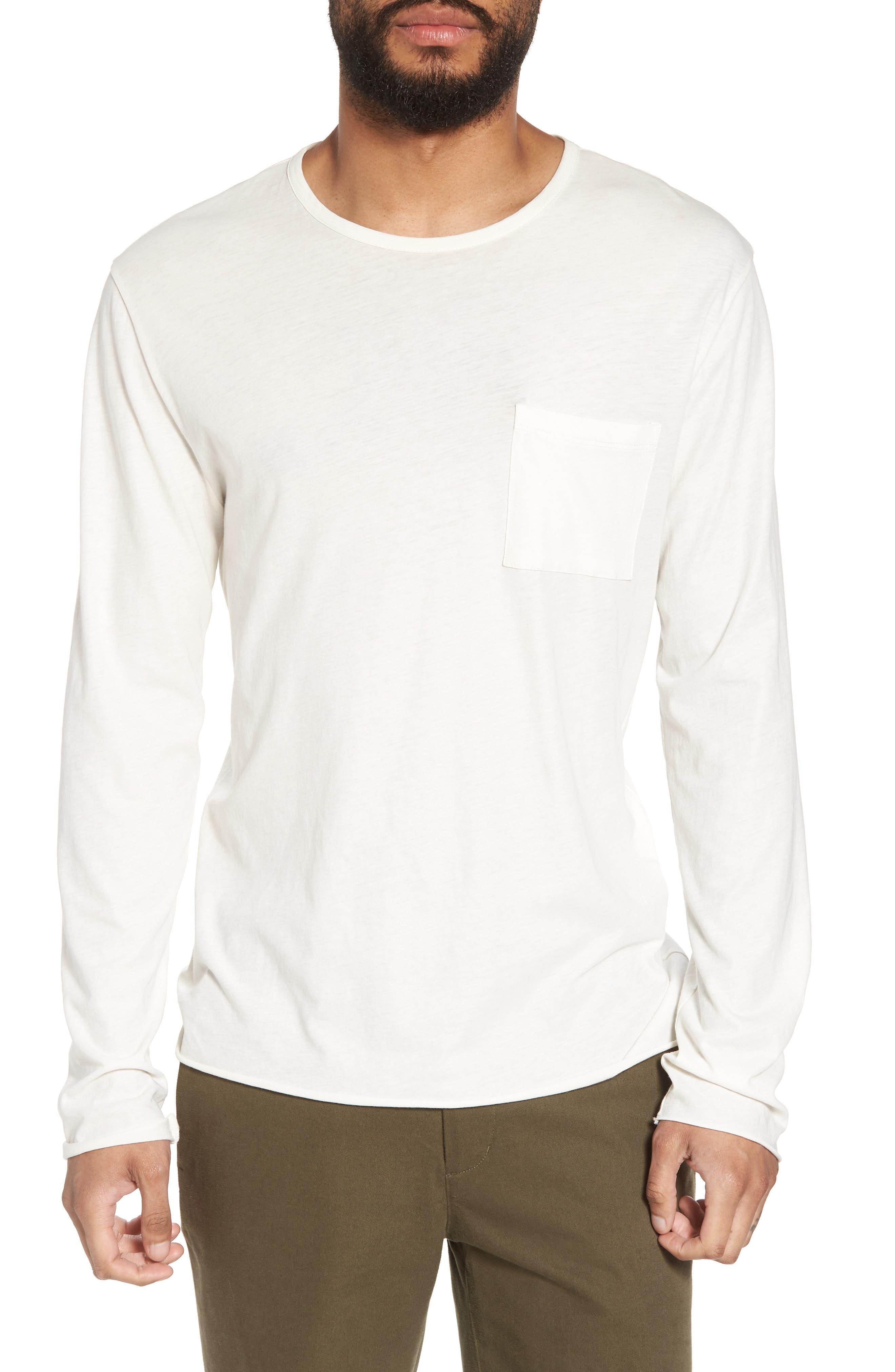Slim Fit Stripe Pocket T-Shirt,                             Main thumbnail 2, color,
