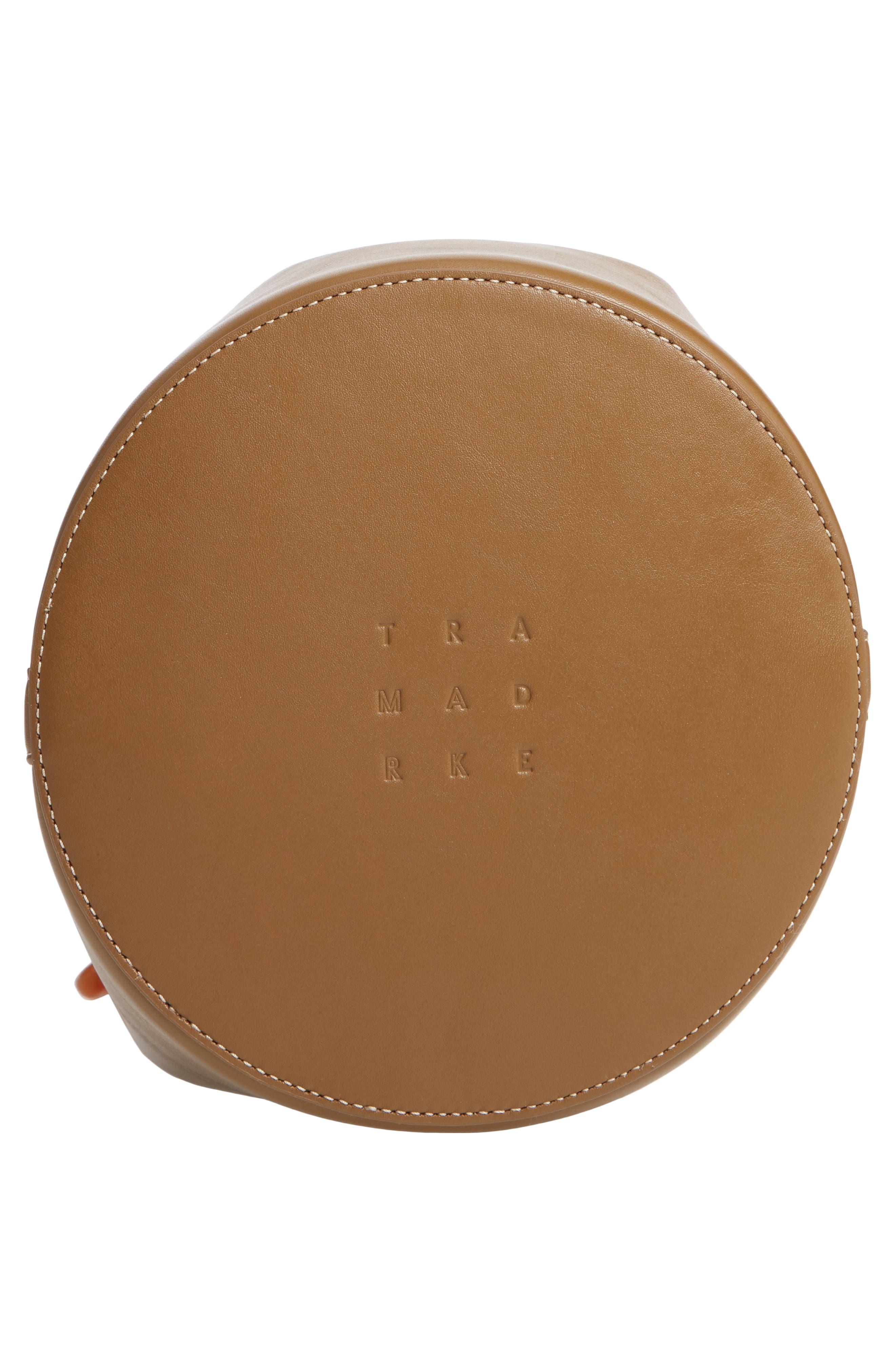Goodall Leather Bucket Bag,                             Alternate thumbnail 6, color,                             200