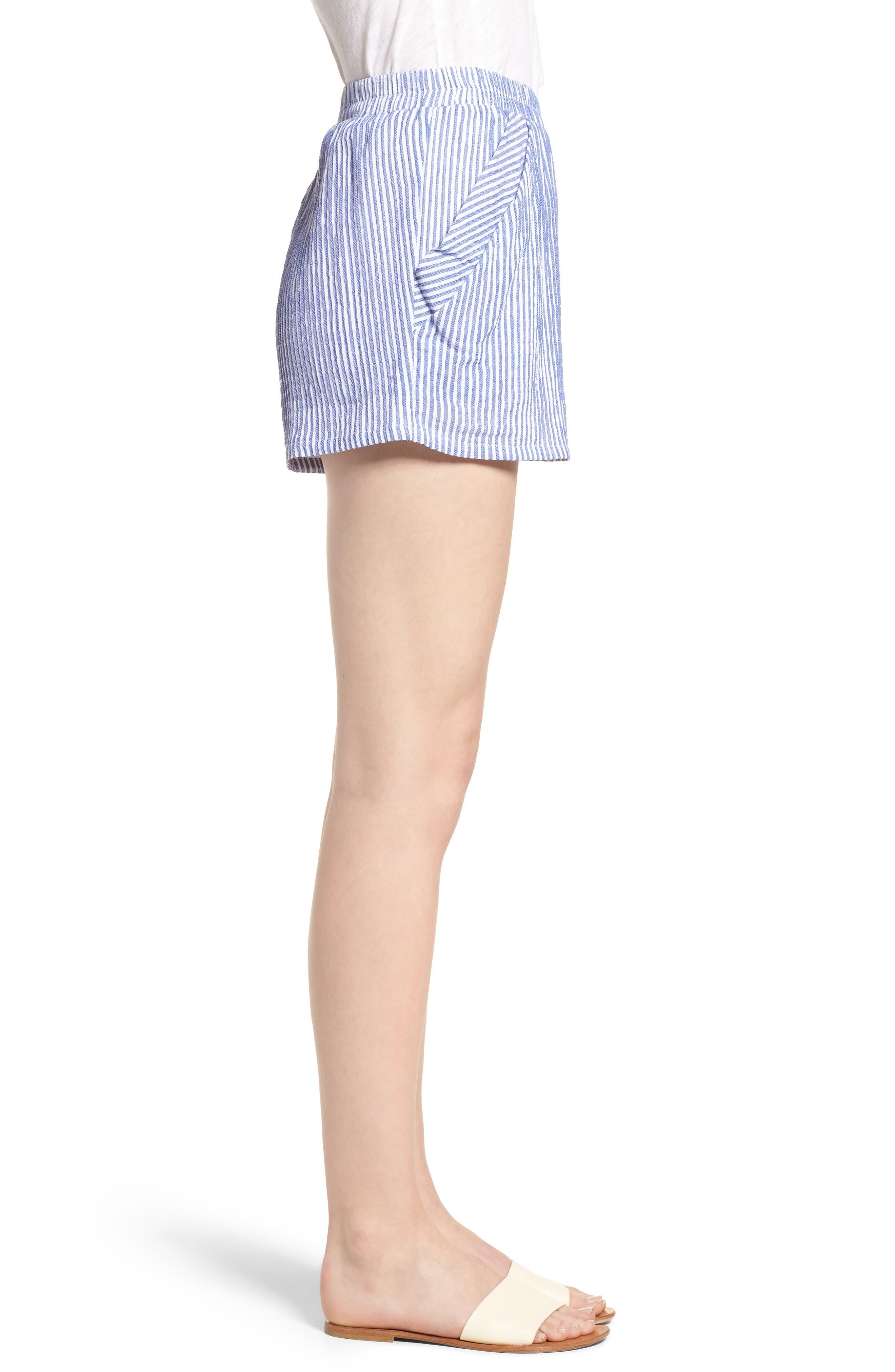 Bishop + Young Stripe Shorts,                             Alternate thumbnail 3, color,                             400