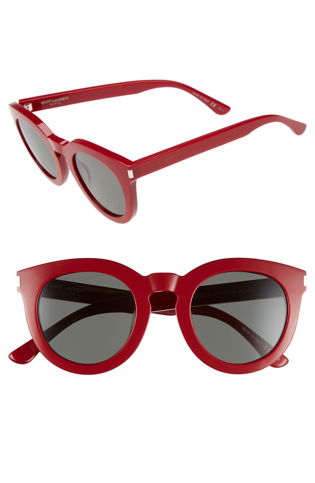 '102 Surf' 47mm Retro Sunglasses,                             Main thumbnail 3, color,