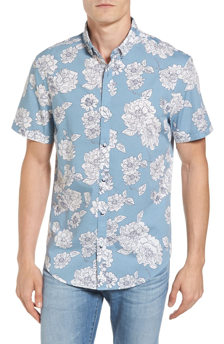 Original Penguin Color by Numbers Woven Shirt | Nordstrom