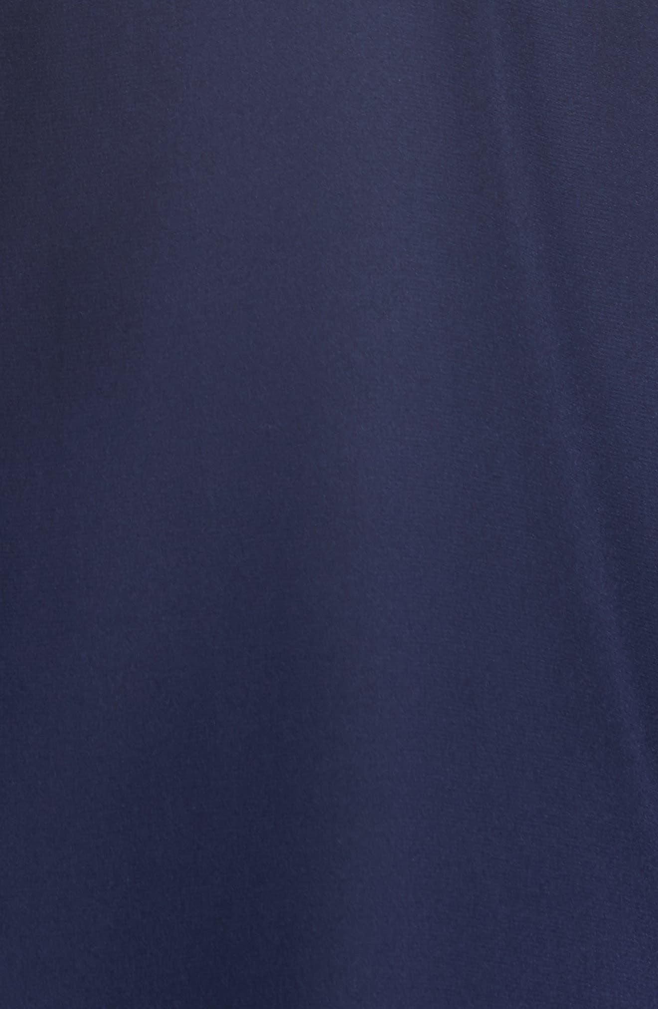 Daryn Matte Silk & Knit Combo Blouse,                             Alternate thumbnail 18, color,