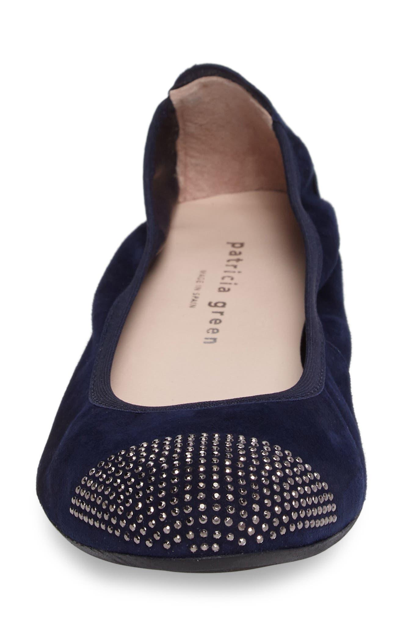 'Starr' Studded Ballet Flat,                             Alternate thumbnail 16, color,