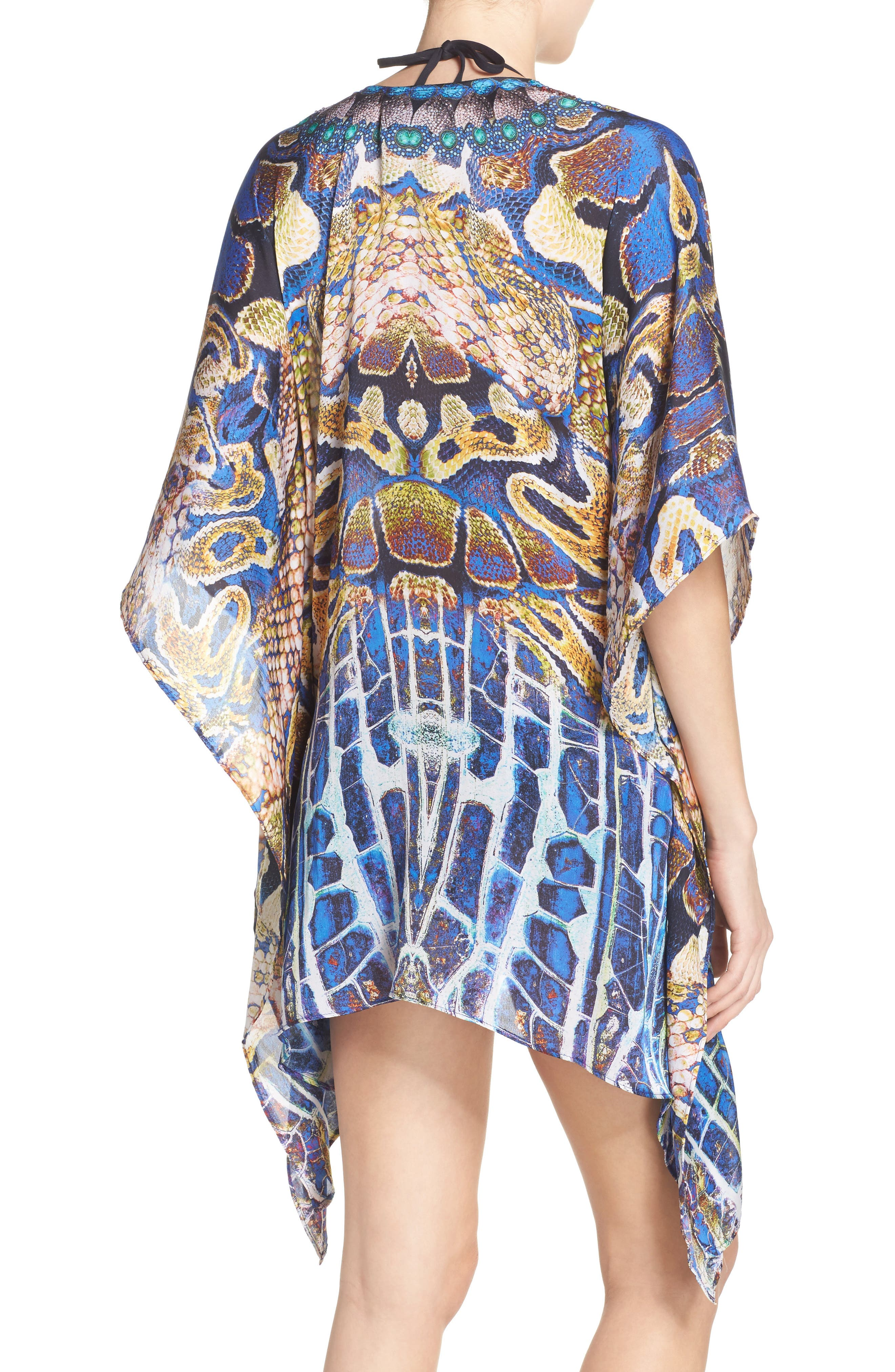 Paris Short Kaftan,                             Alternate thumbnail 2, color,                             400