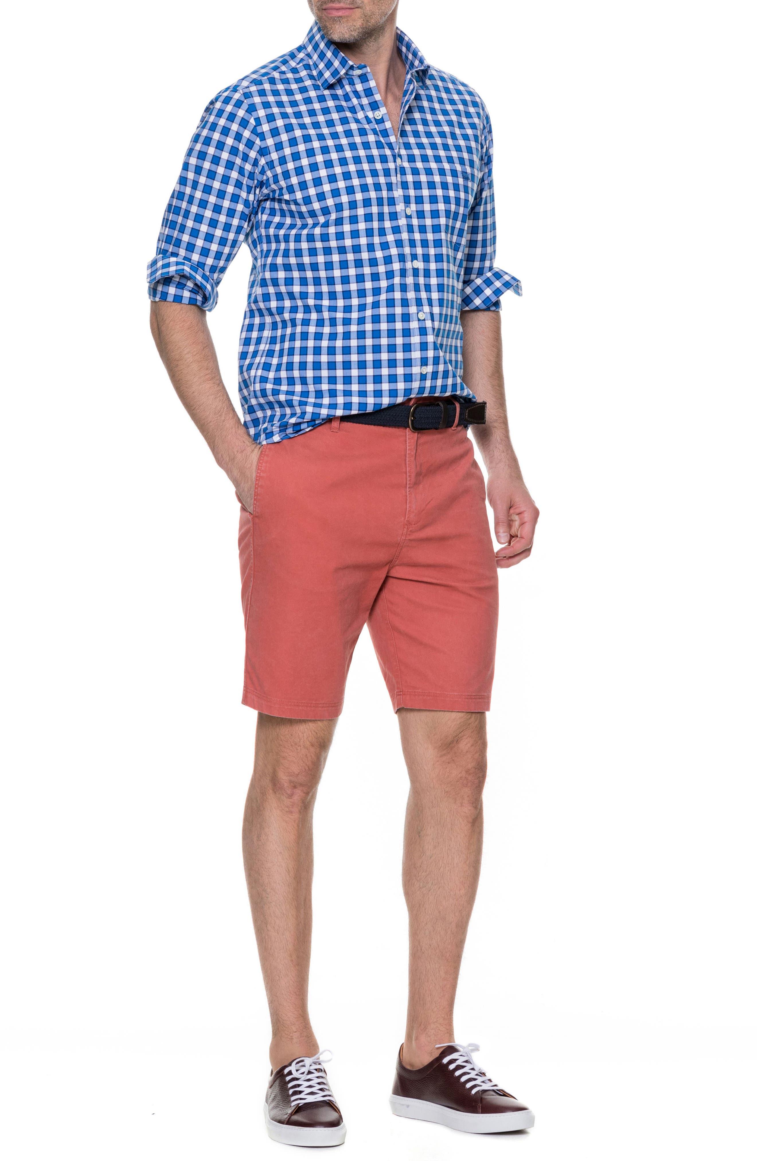 Cedarwood Regular Fit Sport Shirt,                             Alternate thumbnail 5, color,                             459