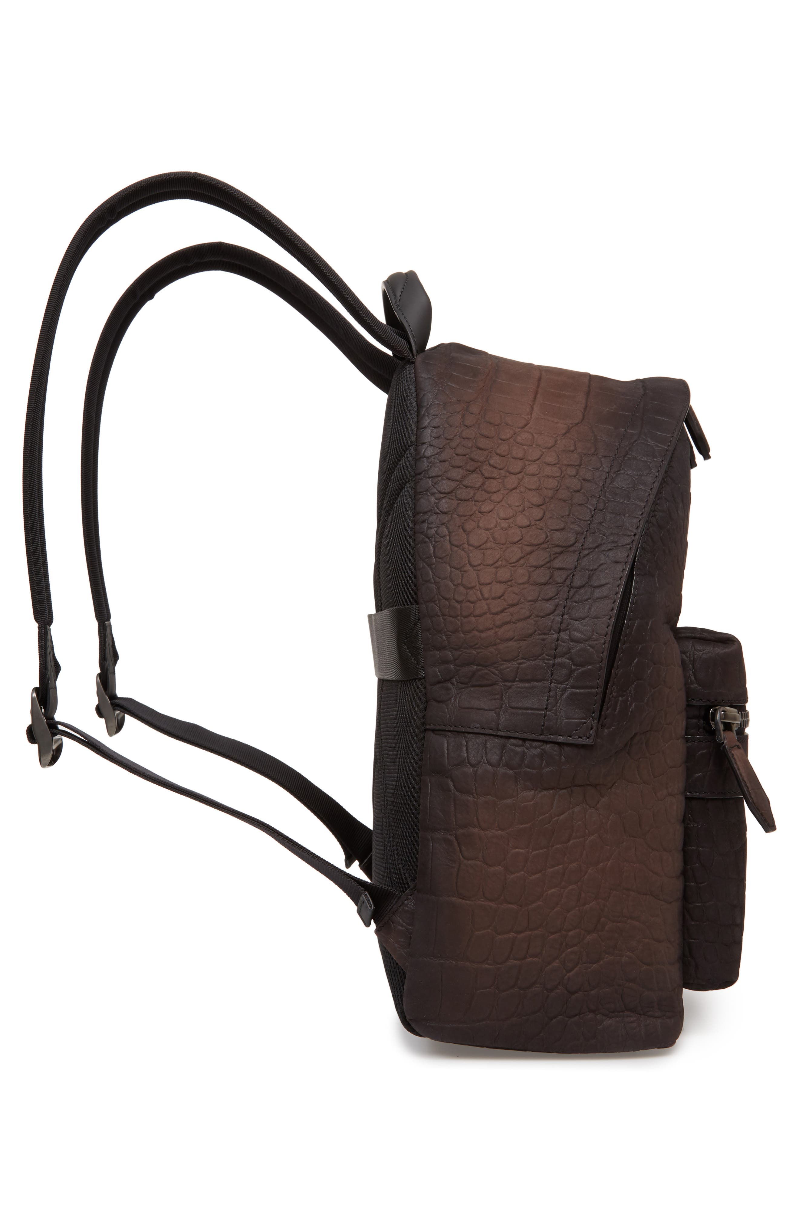 Firenze Leather Backpack,                             Alternate thumbnail 5, color,                             MORO