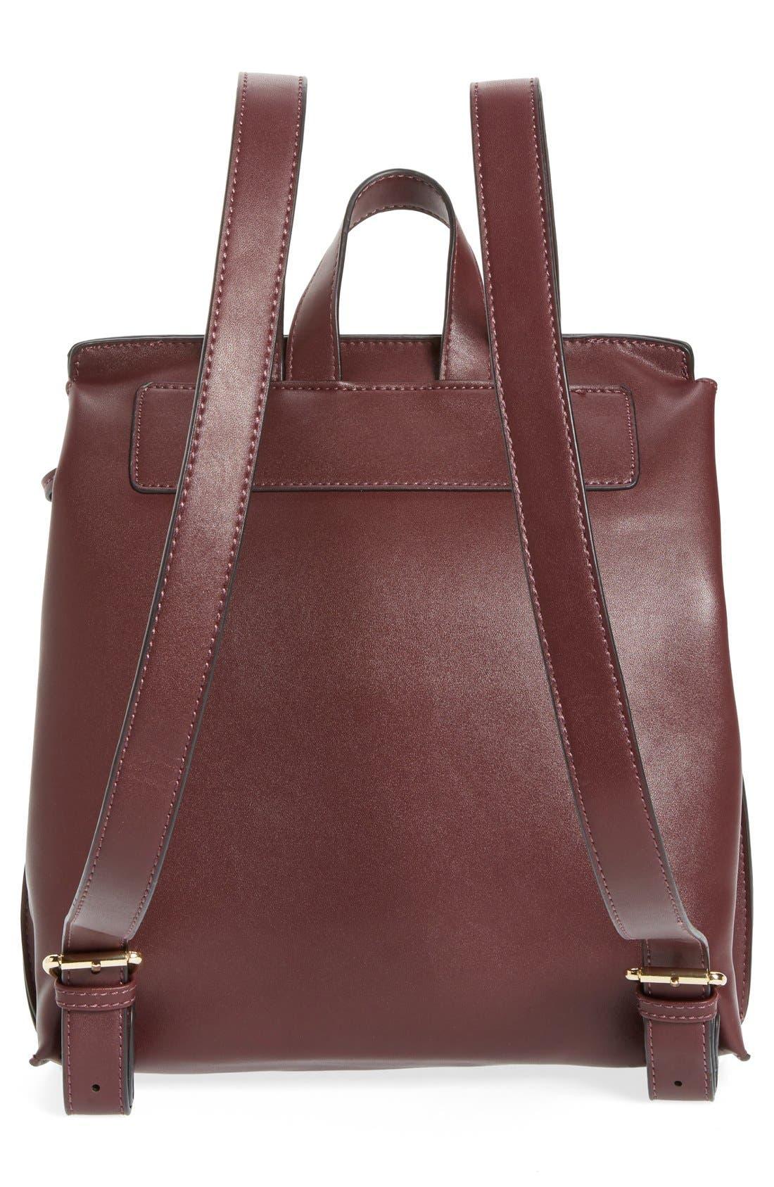 Selena Faux Leather Backpack,                             Alternate thumbnail 30, color,