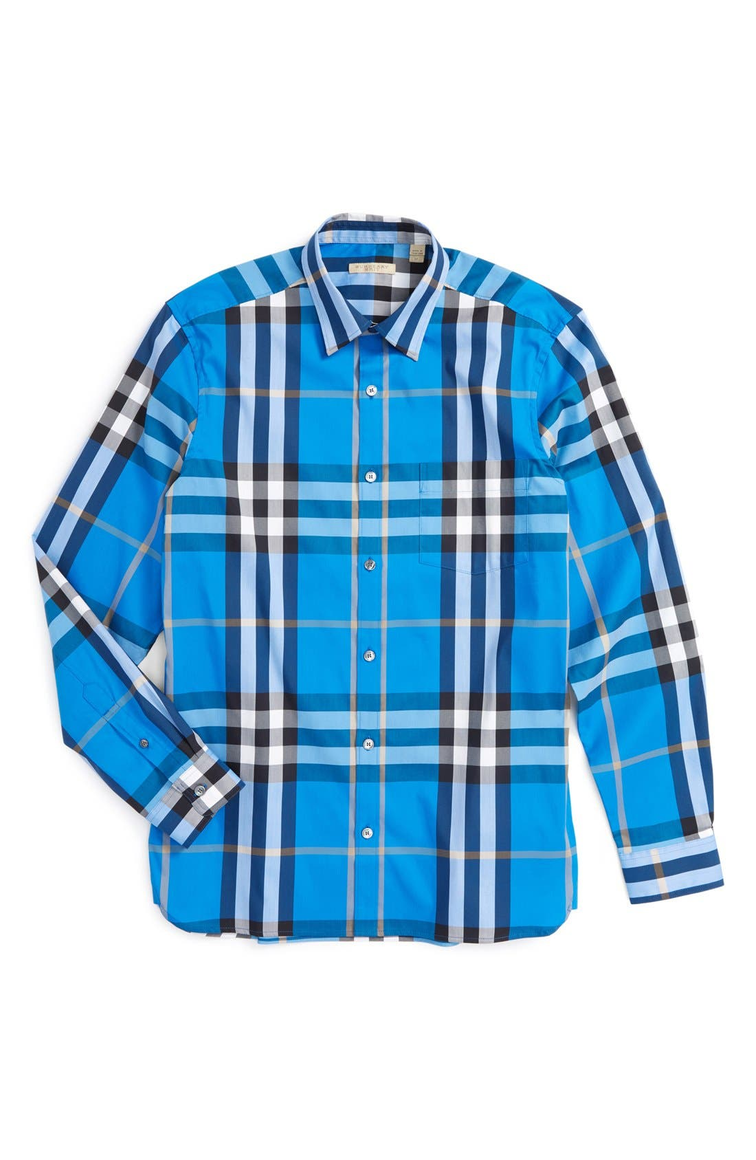 Nelson Check Sport Shirt,                             Alternate thumbnail 126, color,