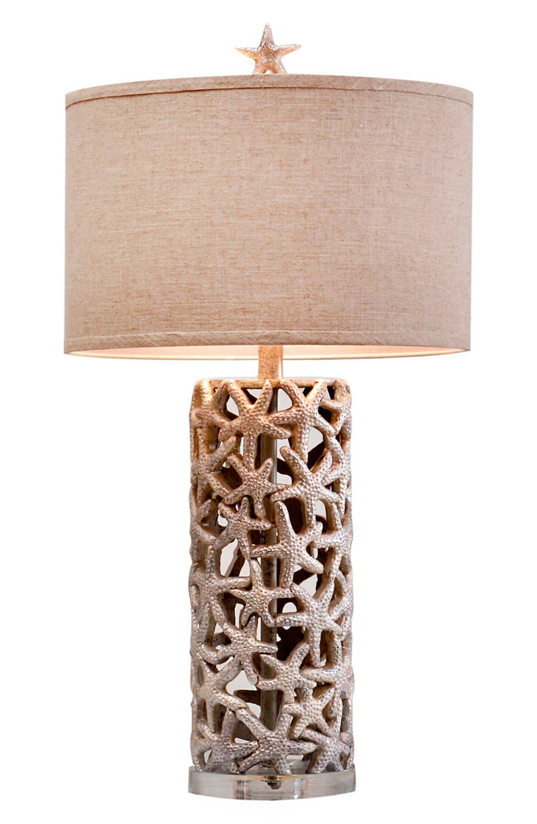 JAlexander 'Silver Starfish' Table Lamp,                             Main thumbnail 1, color,                             040