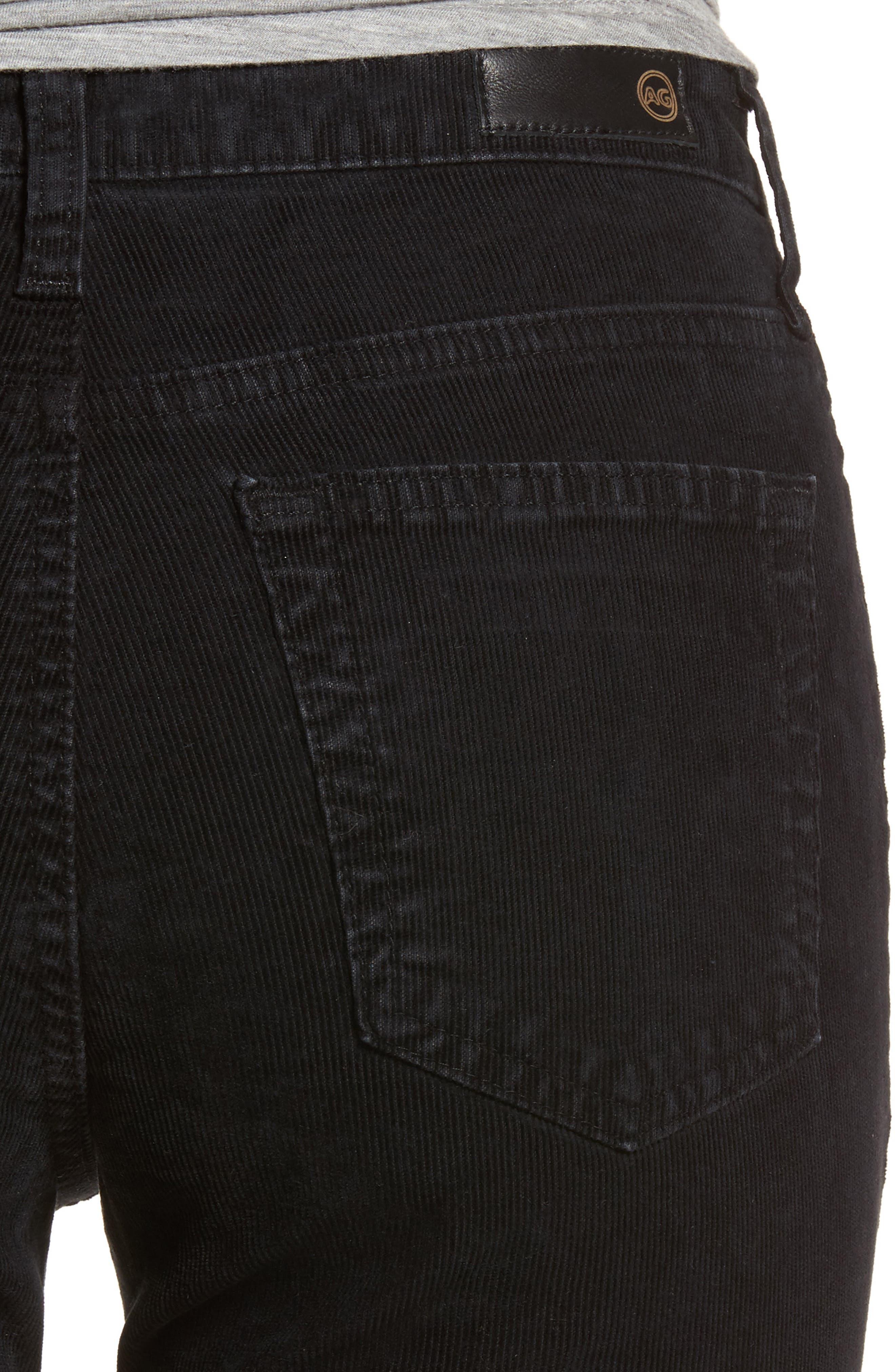 Isabelle High Waist Corduroy Jeans,                             Alternate thumbnail 4, color,