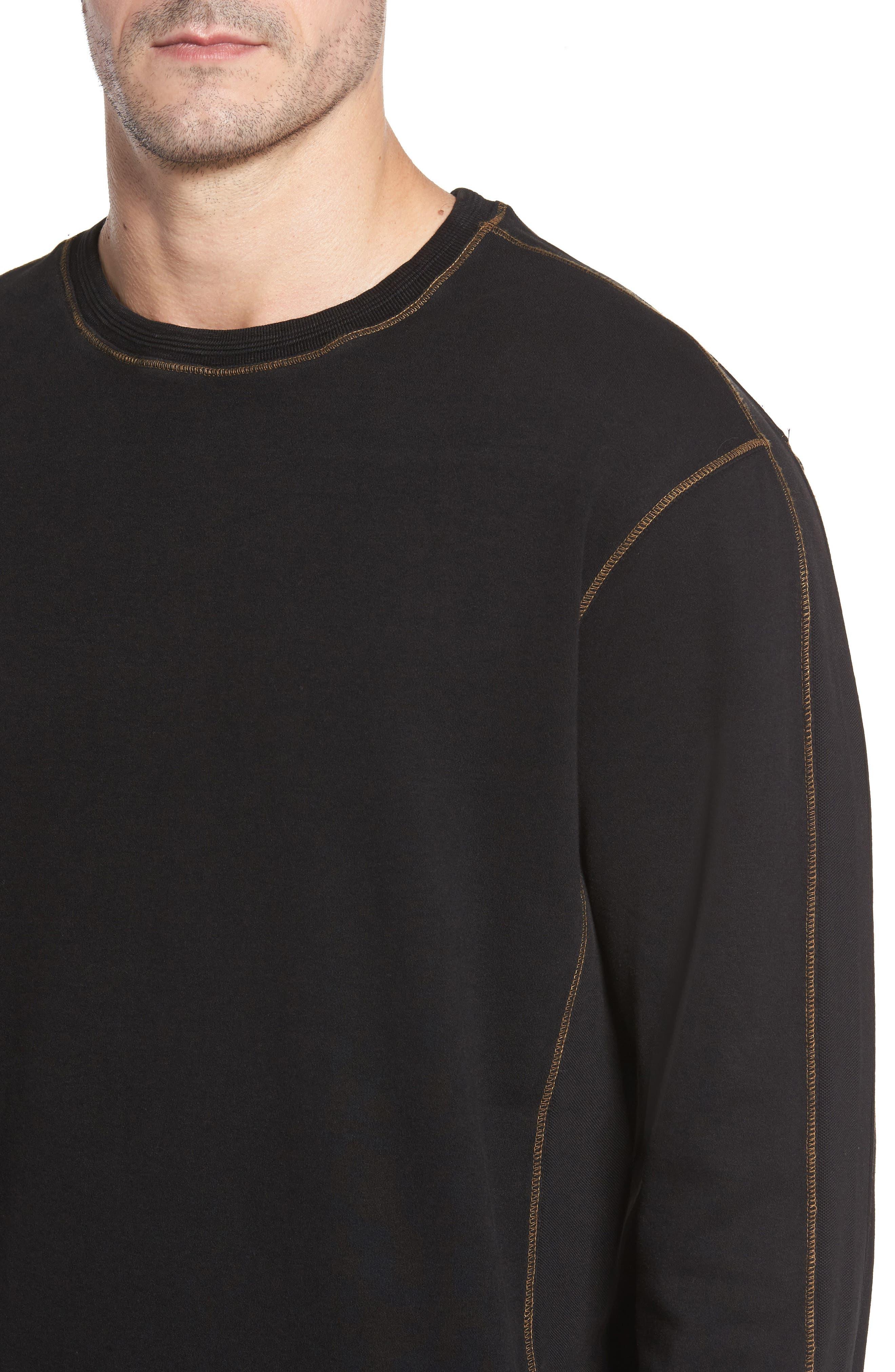 Kenyon Long Sleeve T-Shirt,                             Alternate thumbnail 4, color,                             001