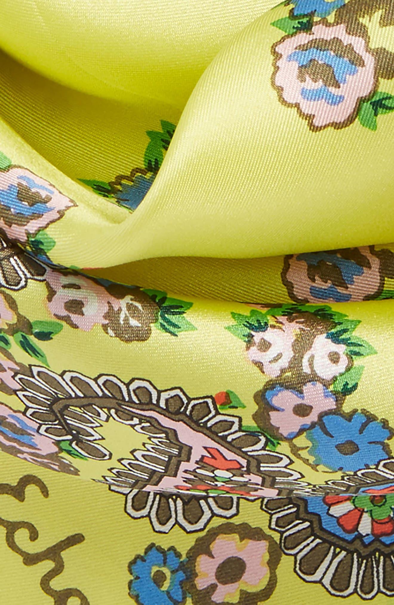 Penelope Paisley Silk Bandana,                             Alternate thumbnail 4, color,                             325
