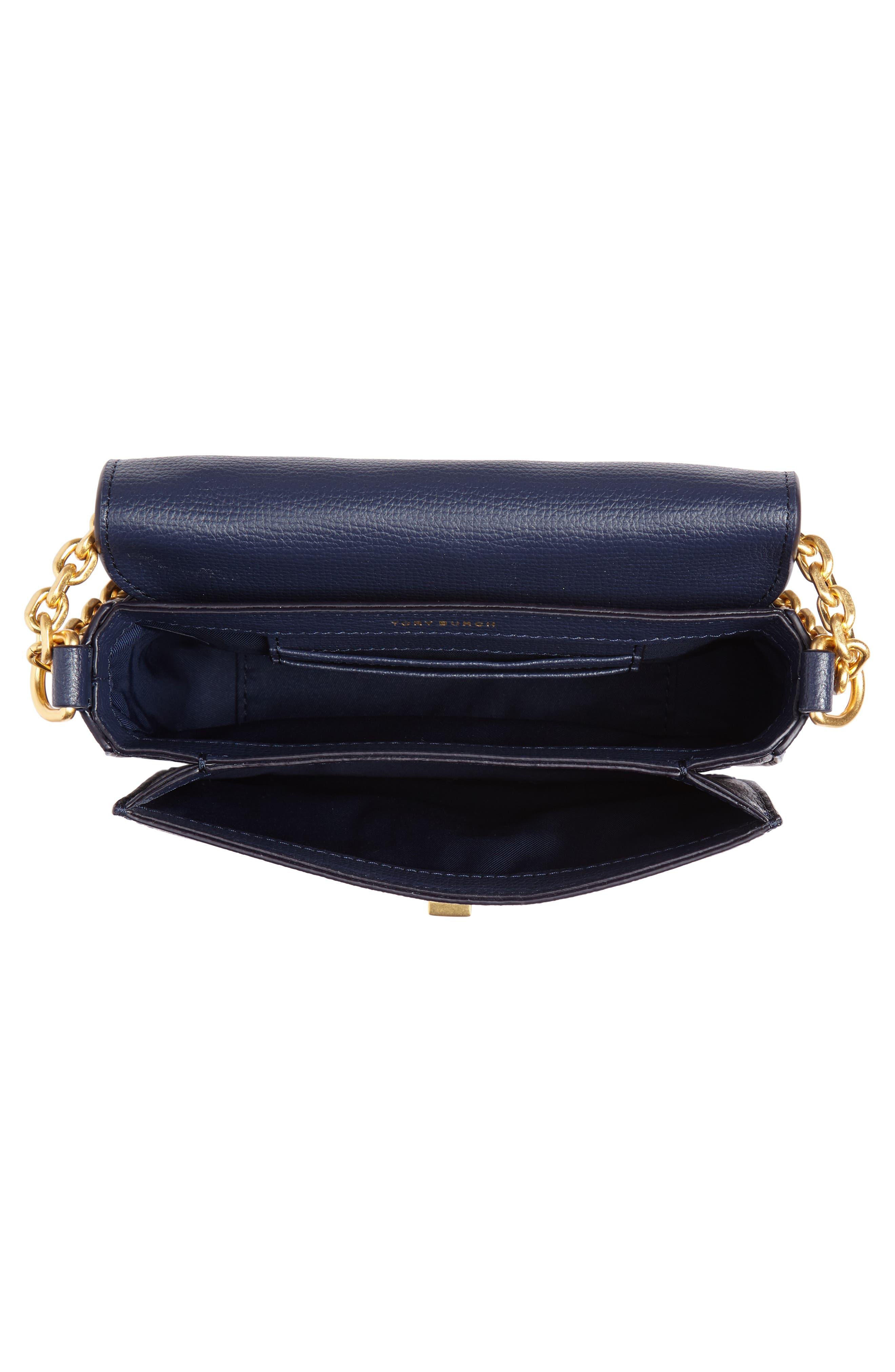 Mini Kira Leather & Fil Coupé Bag,                             Alternate thumbnail 4, color,                             NEUTRAL HAPPY TIMES