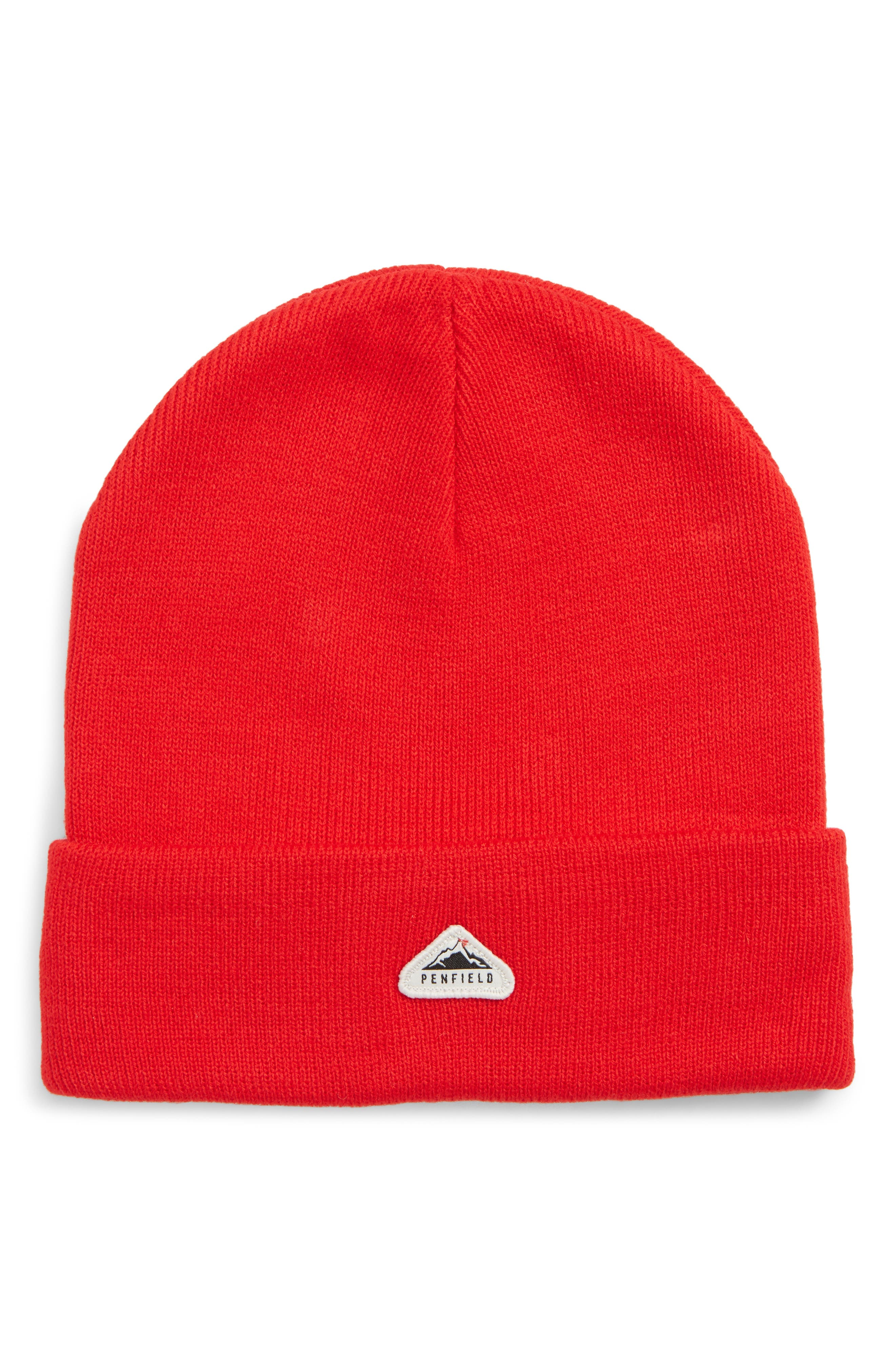 PENFIELD Classic Beanie Hat - Red