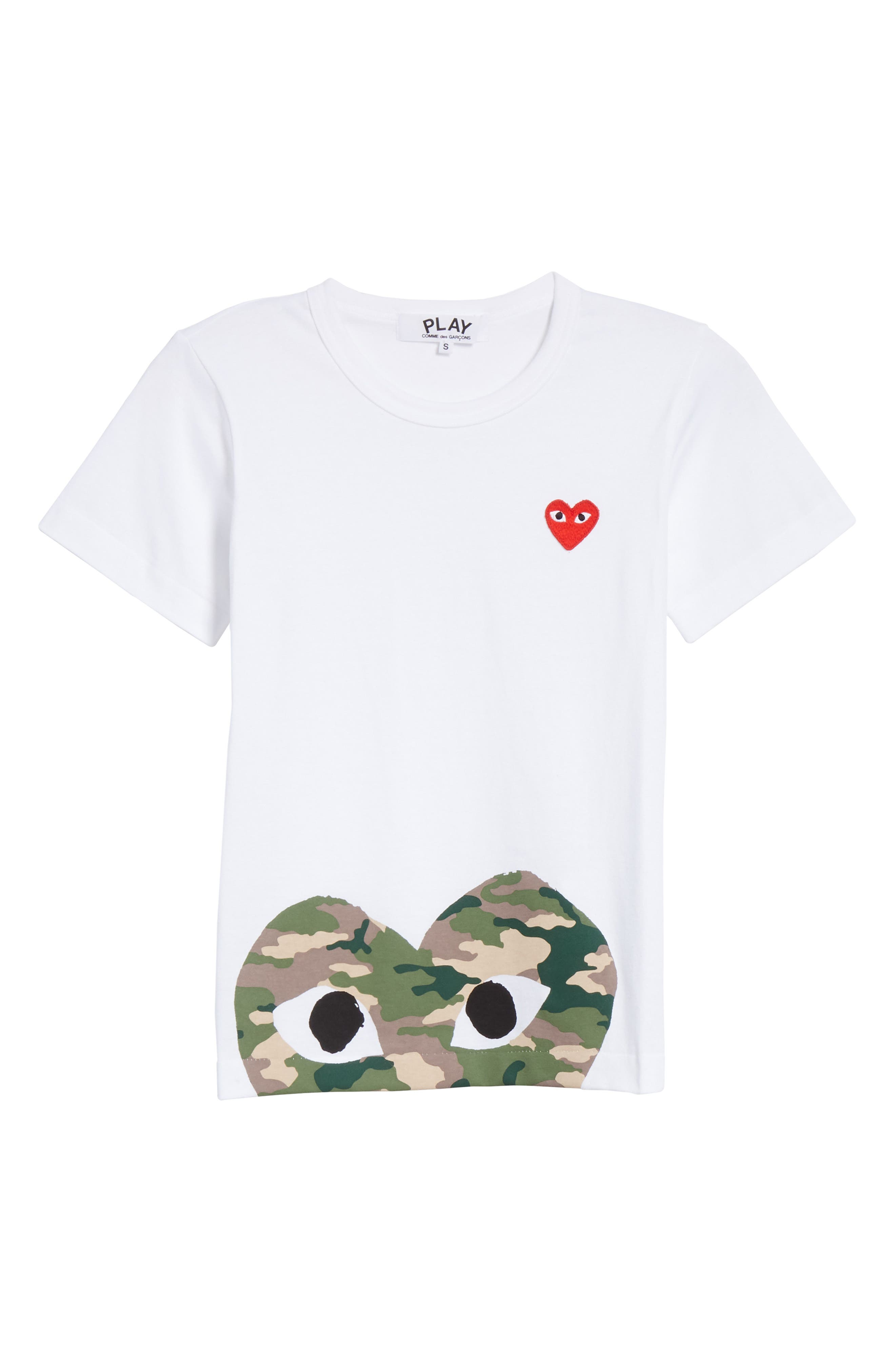 PLAY Graphic Tee,                             Alternate thumbnail 6, color,                             WHITE