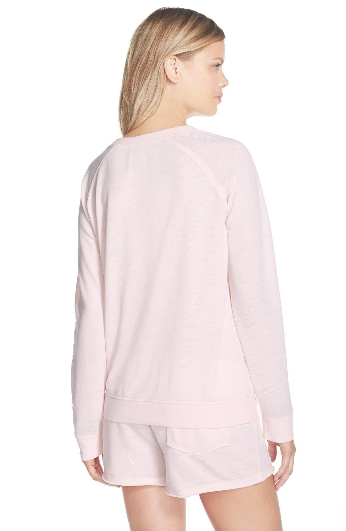Burnout Lounge Sweatshirt,                             Alternate thumbnail 153, color,