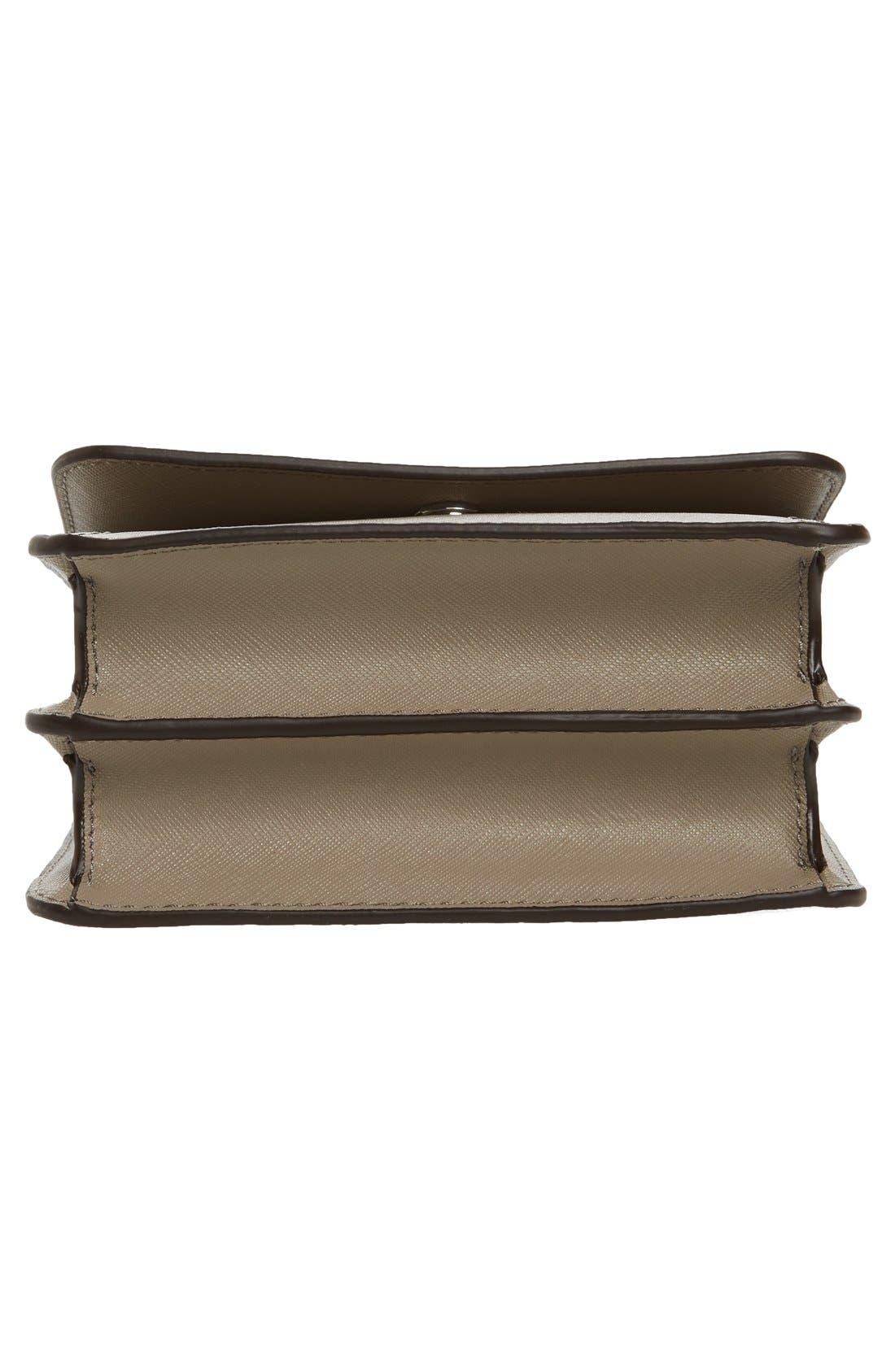 Mini Robinson Convertible Leather Shoulder Bag,                             Alternate thumbnail 3, color,                             036