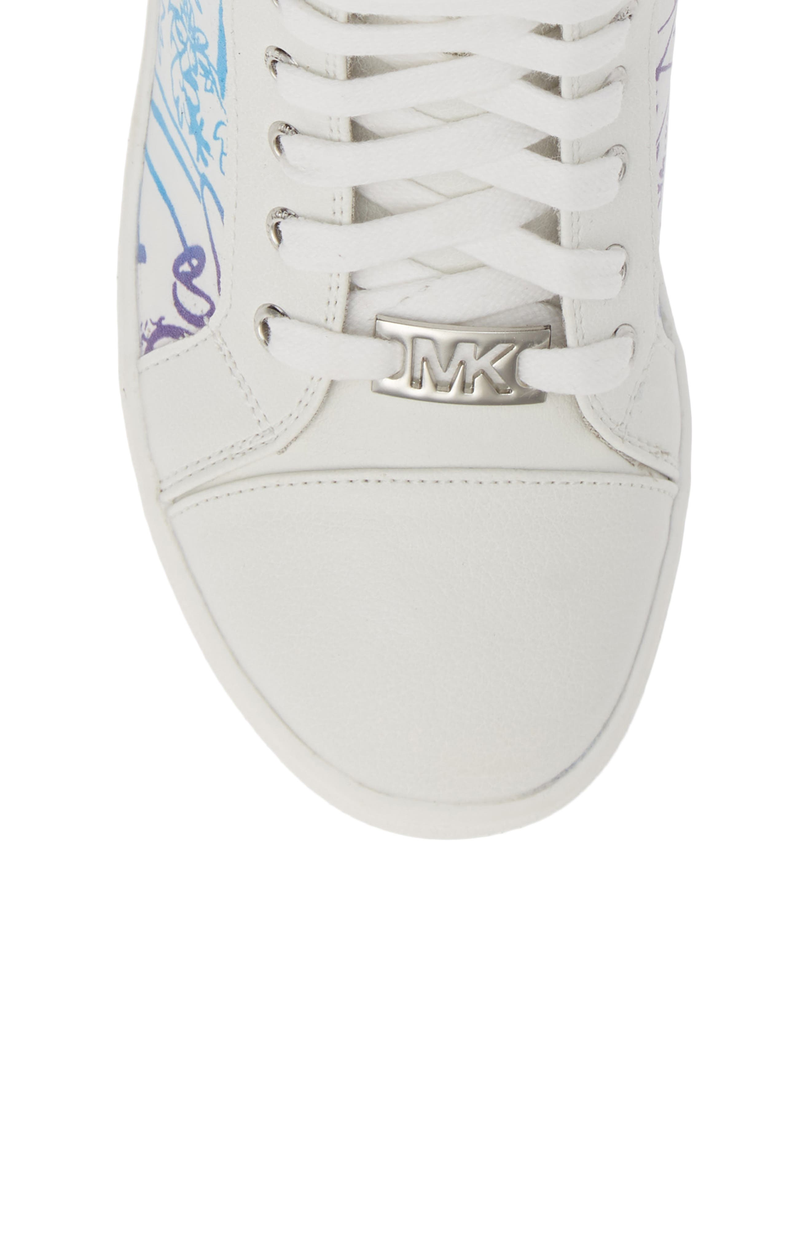 Ivy Spectra High Top Sneaker,                             Alternate thumbnail 5, color,                             WHITE MULTI
