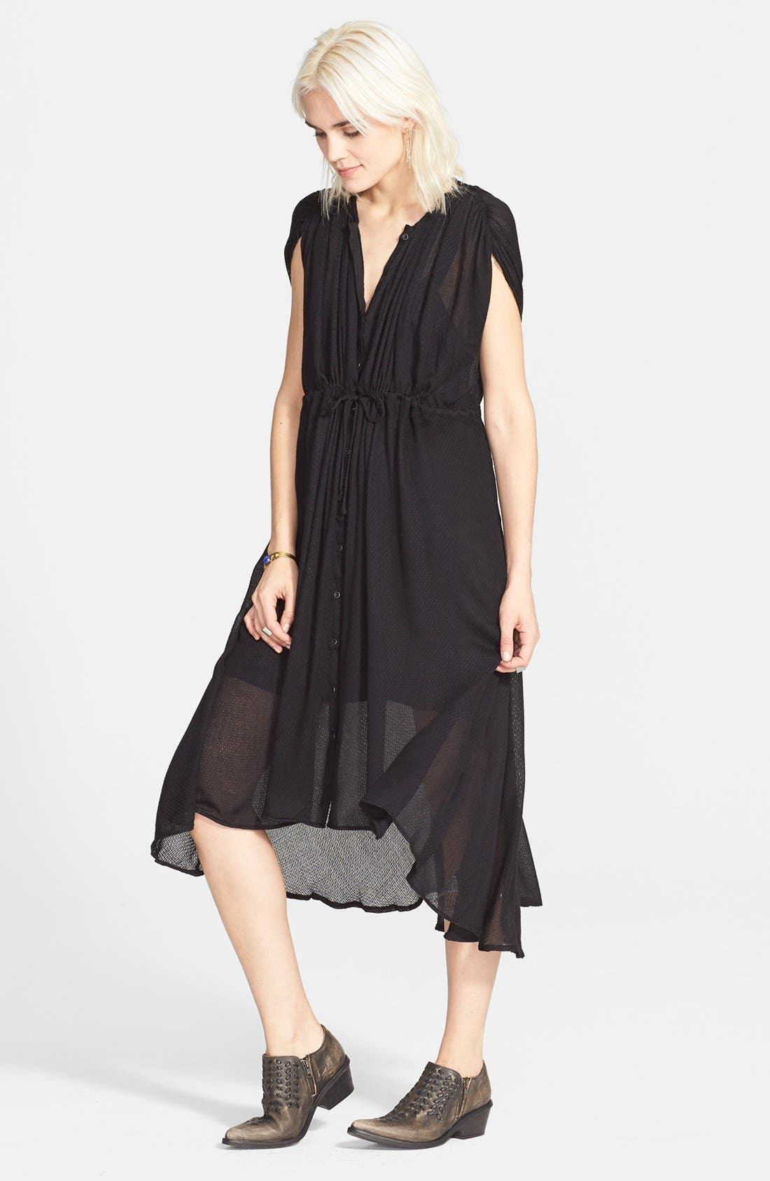 'Sweet Talk' Maxi Dress,                         Main,                         color, 001