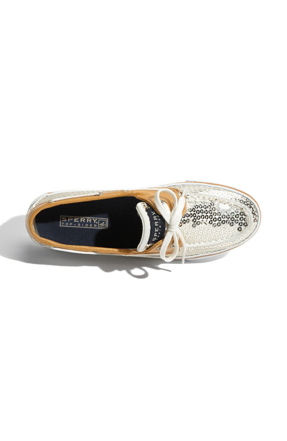 Top-Sider<sup>®</sup> 'Bahama' Sequined Boat Shoe,                             Alternate thumbnail 165, color,