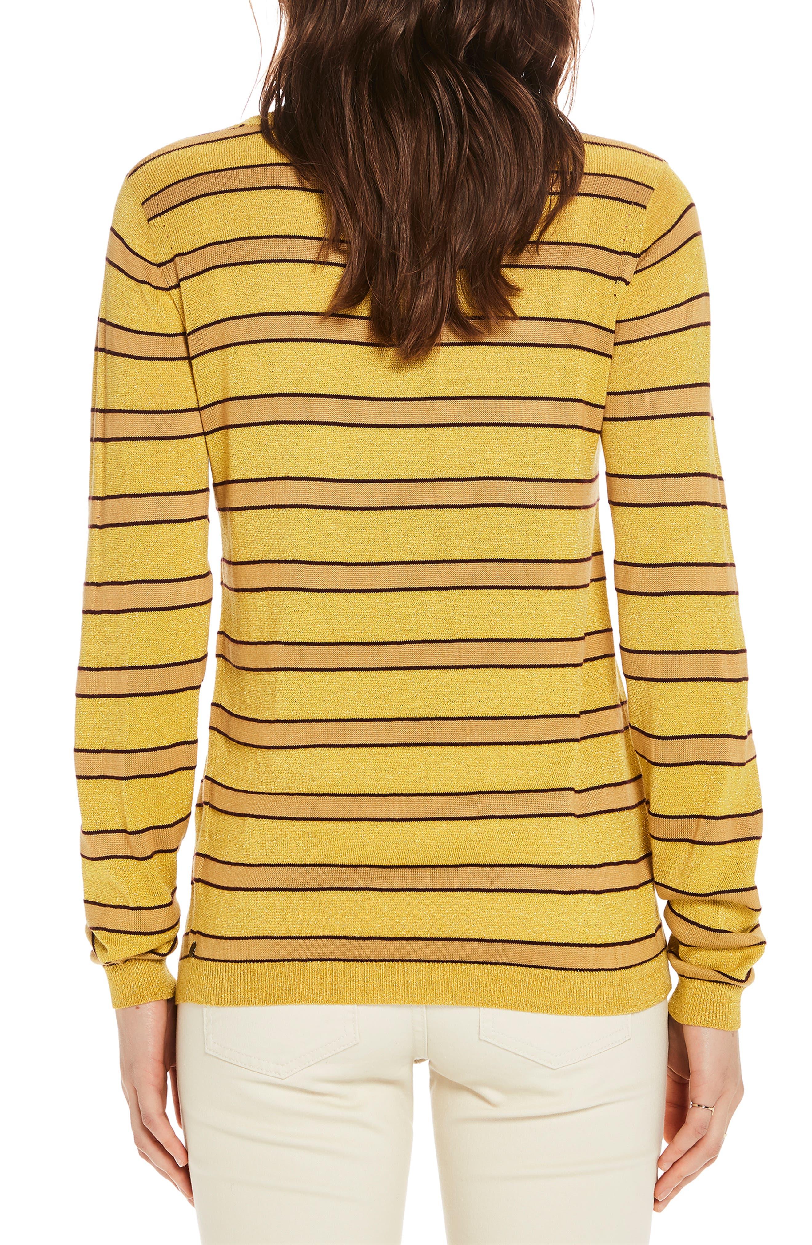 Stripe Crewneck Sweater,                             Alternate thumbnail 2, color,                             730