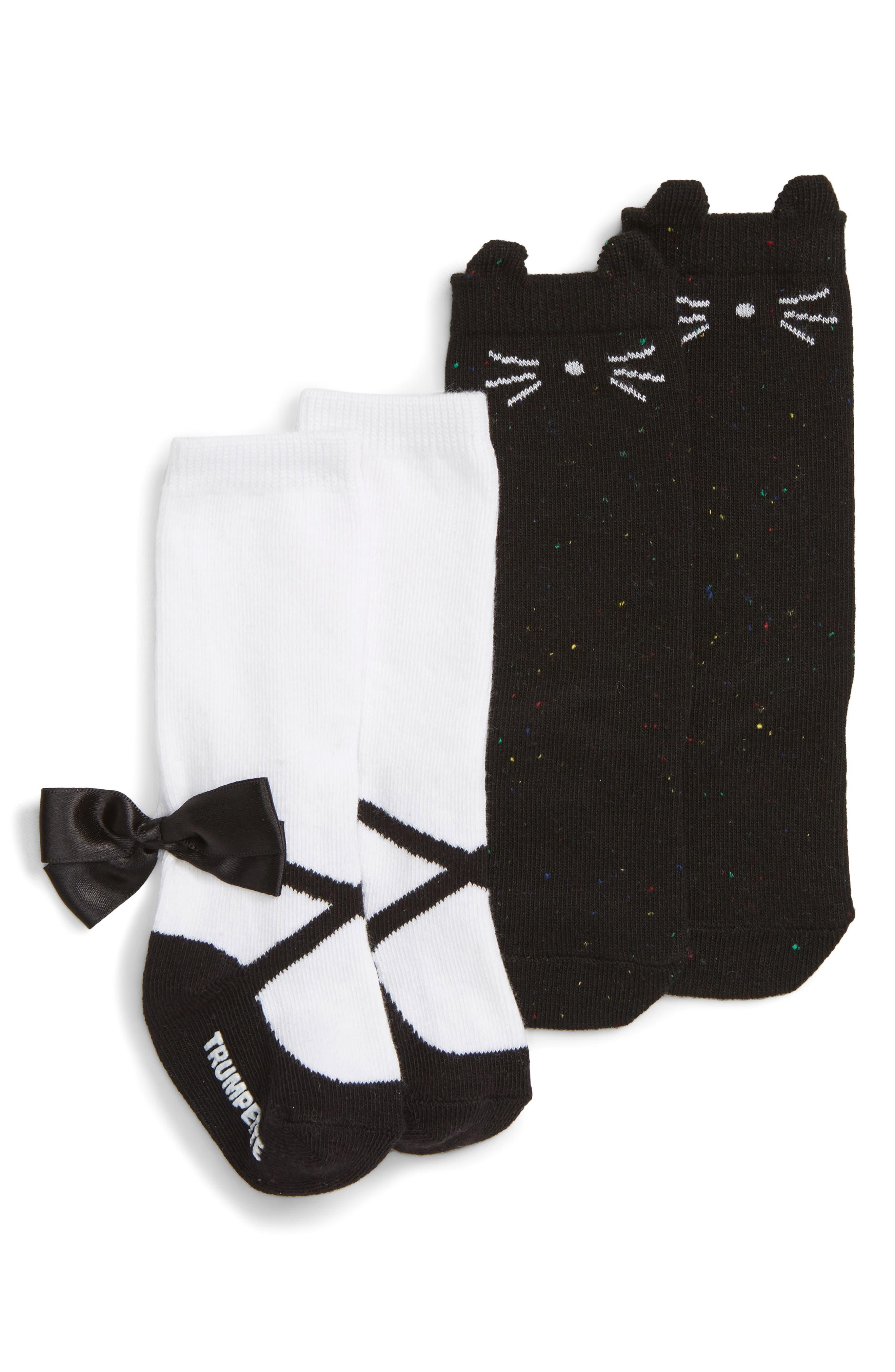 Nicole 2-Pack Socks,                             Main thumbnail 1, color,                             002