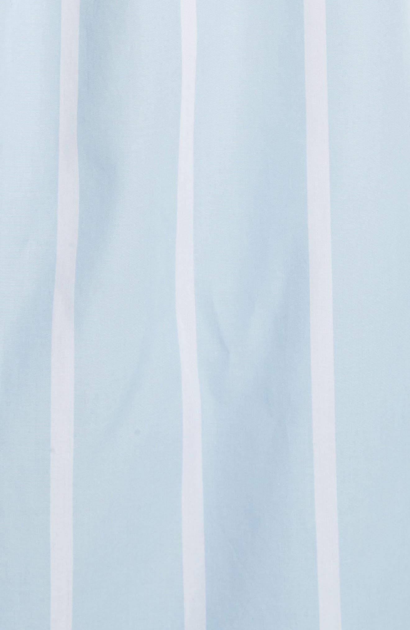 Arlette Stripe Cotton Shirt,                             Alternate thumbnail 5, color,                             498