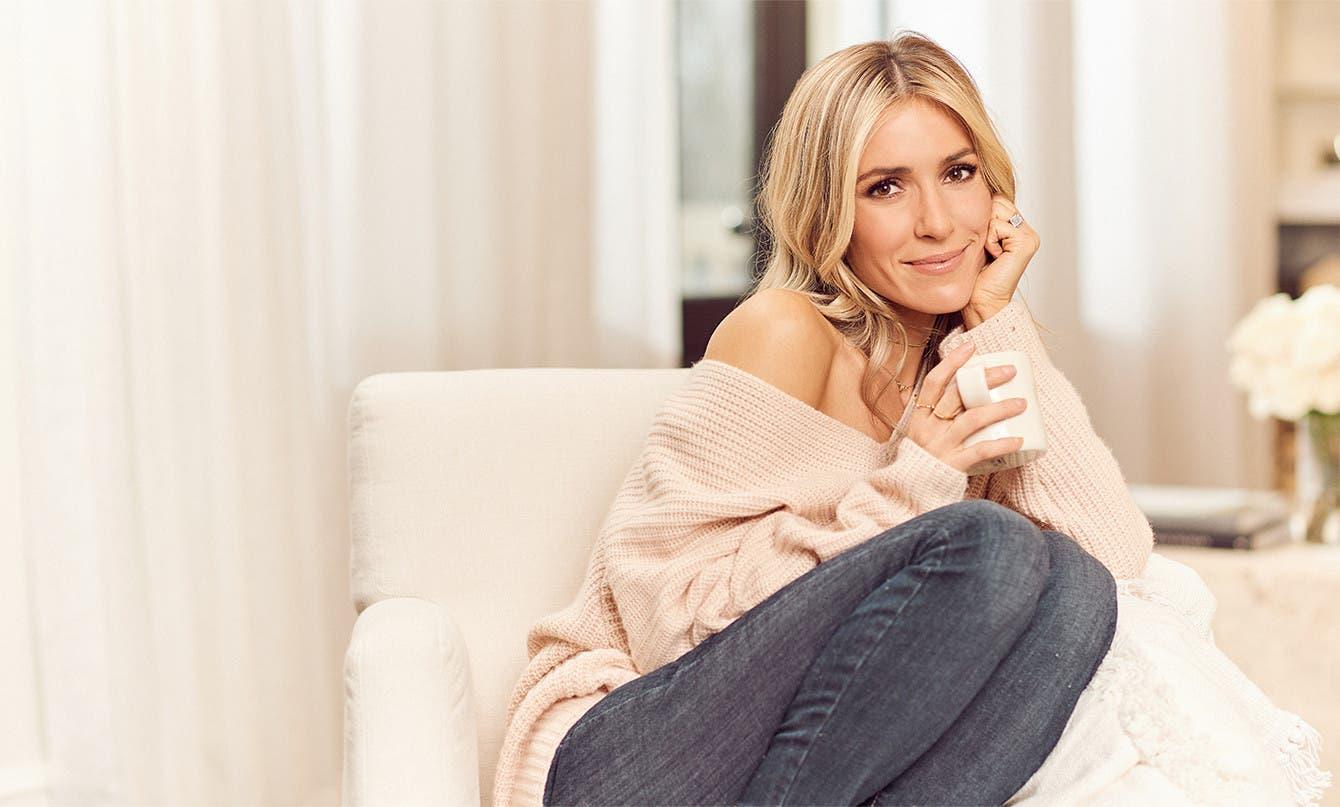 Designer Kristin Cavallari at home.