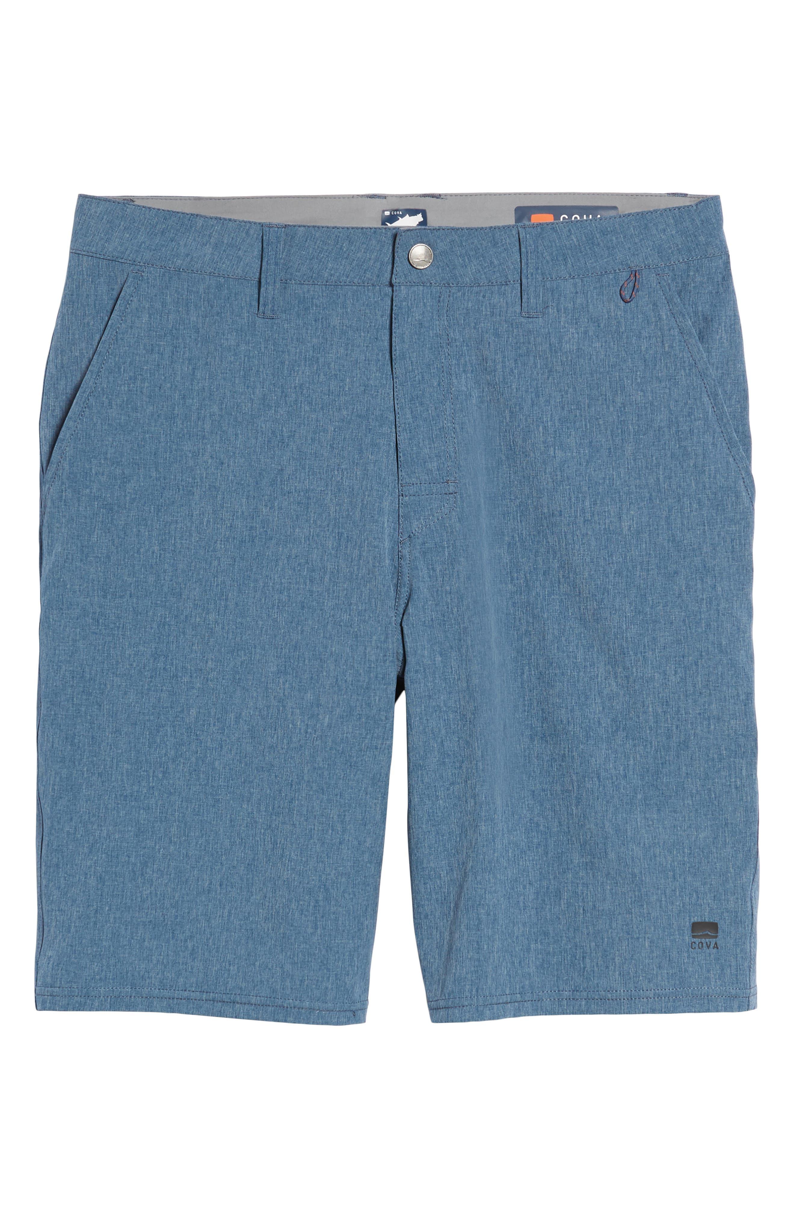 Salty Dog Hybrid Shorts,                             Alternate thumbnail 6, color,                             DEEP SEA